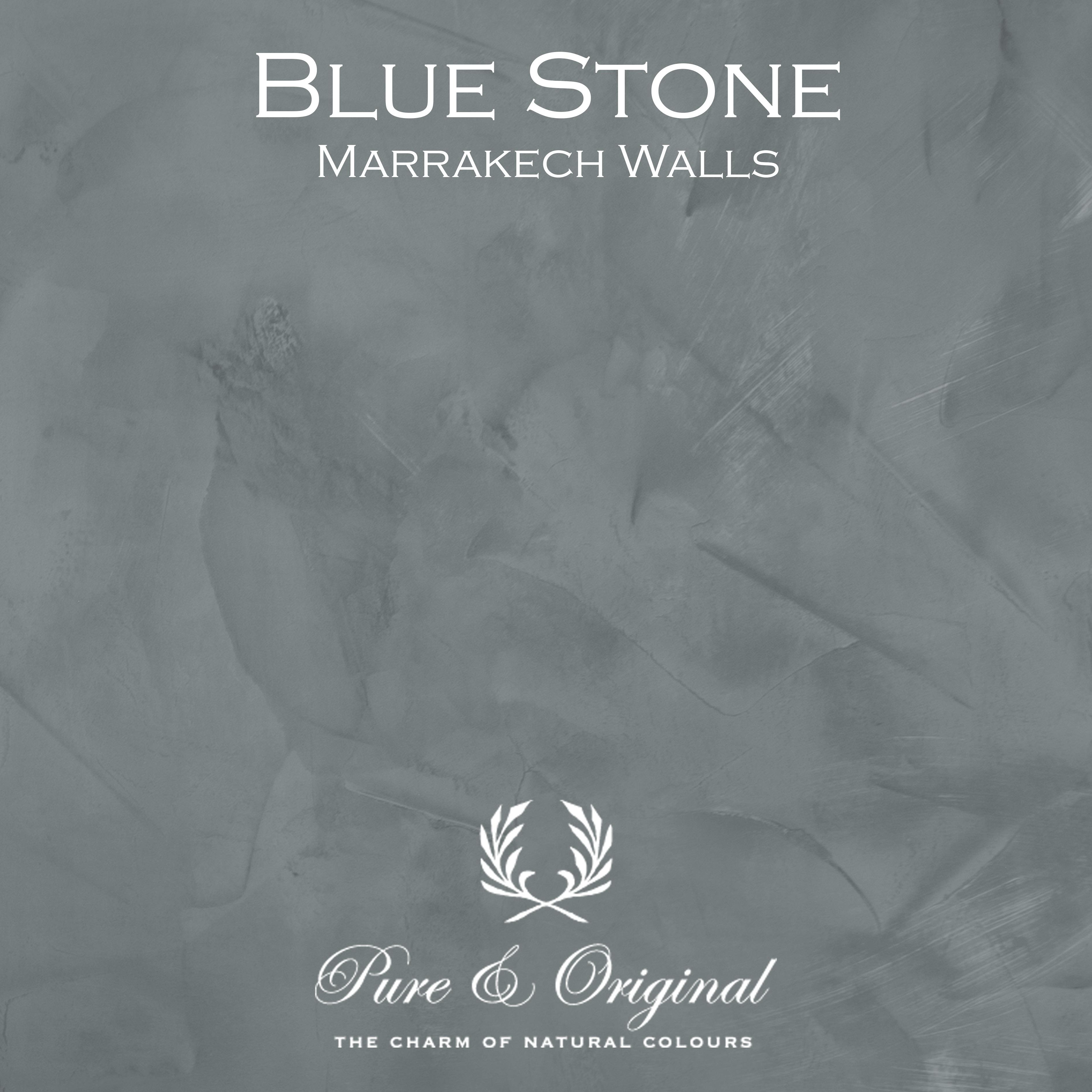 Kulör Blue Stone, Marrakech Walls kalkfärg