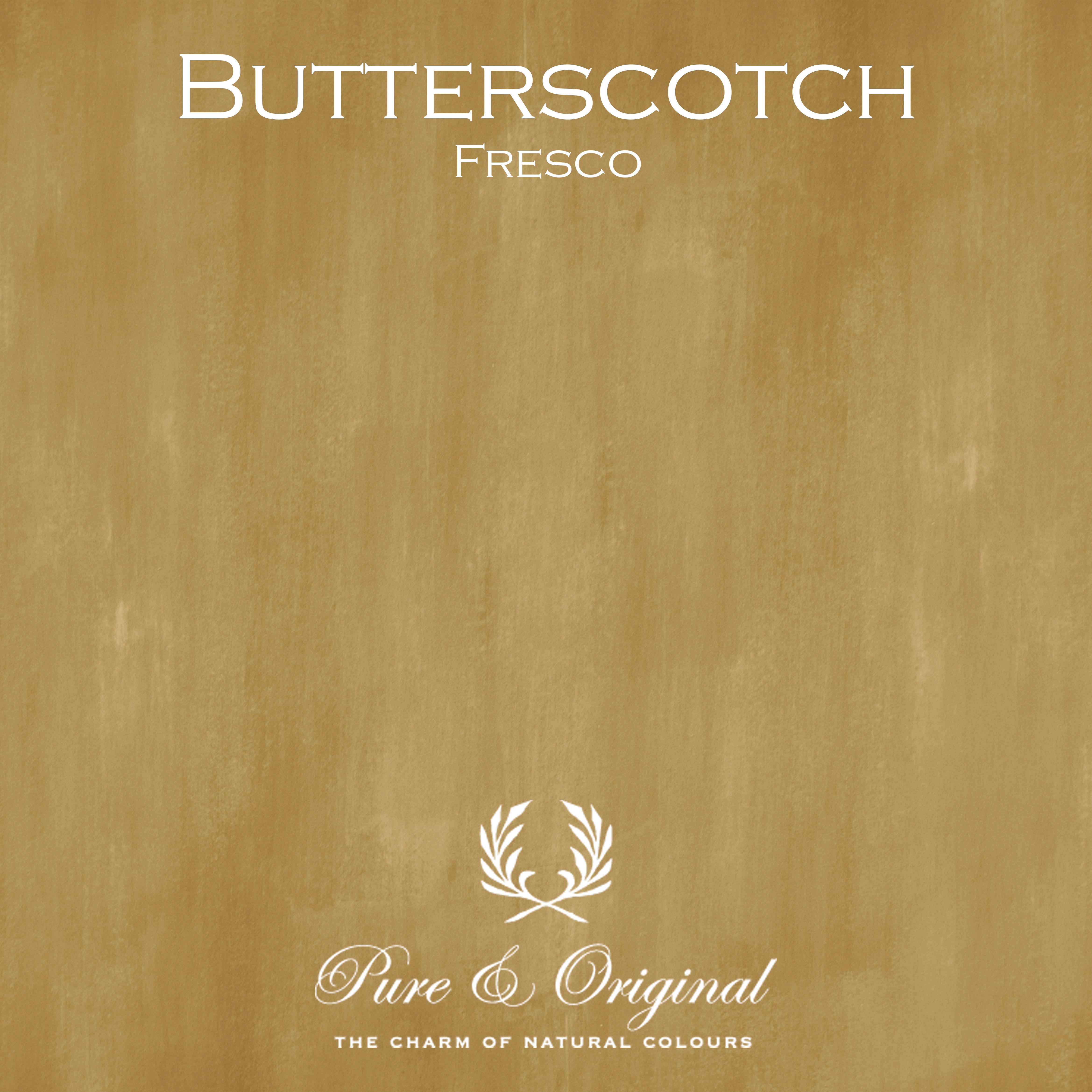 Kulör Butterscotch, Fresco kalkfärg
