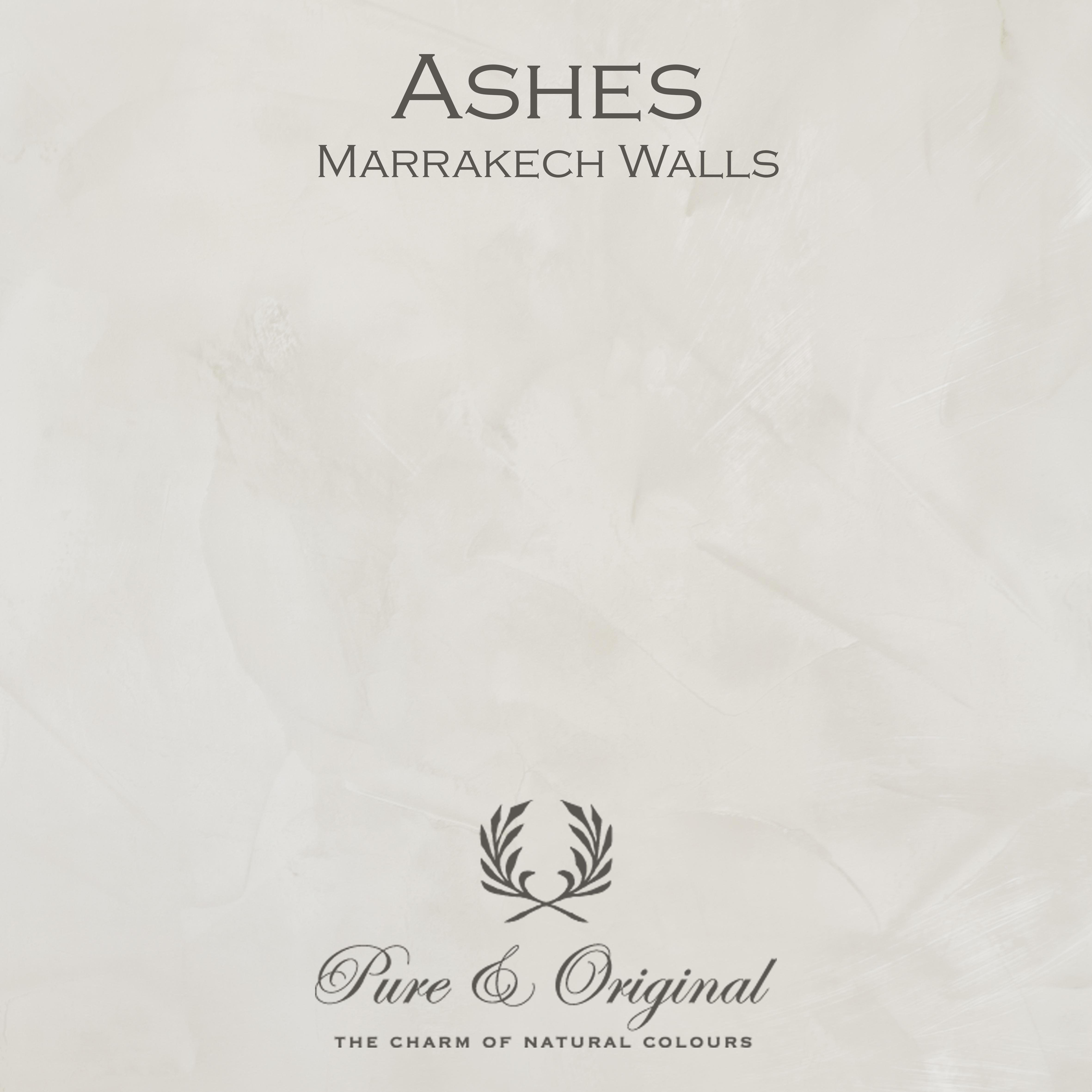 Kulör Ashes, Marrakech Walls  kalkfärg