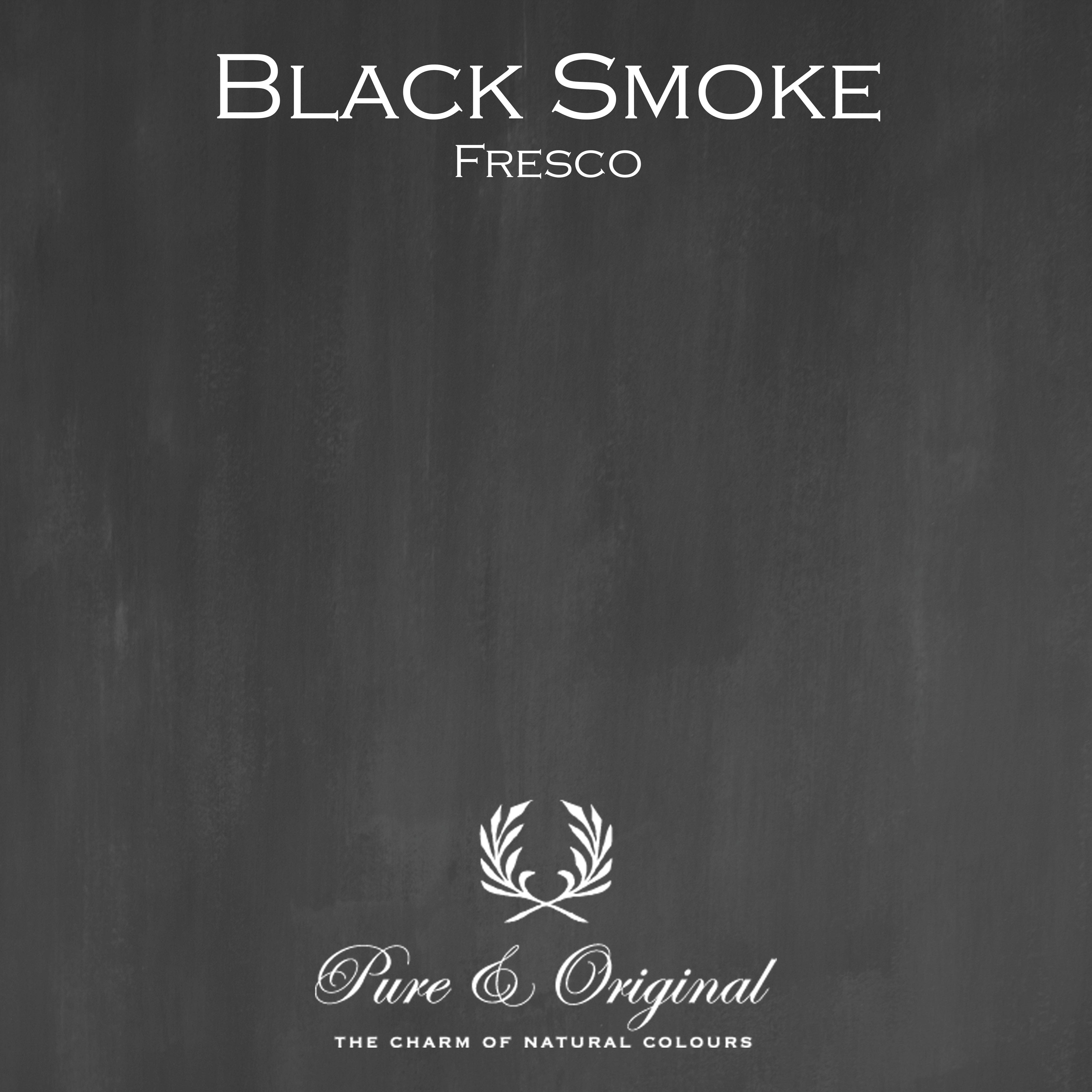 Kulör Black Smoke, Fresco  kalkfärg
