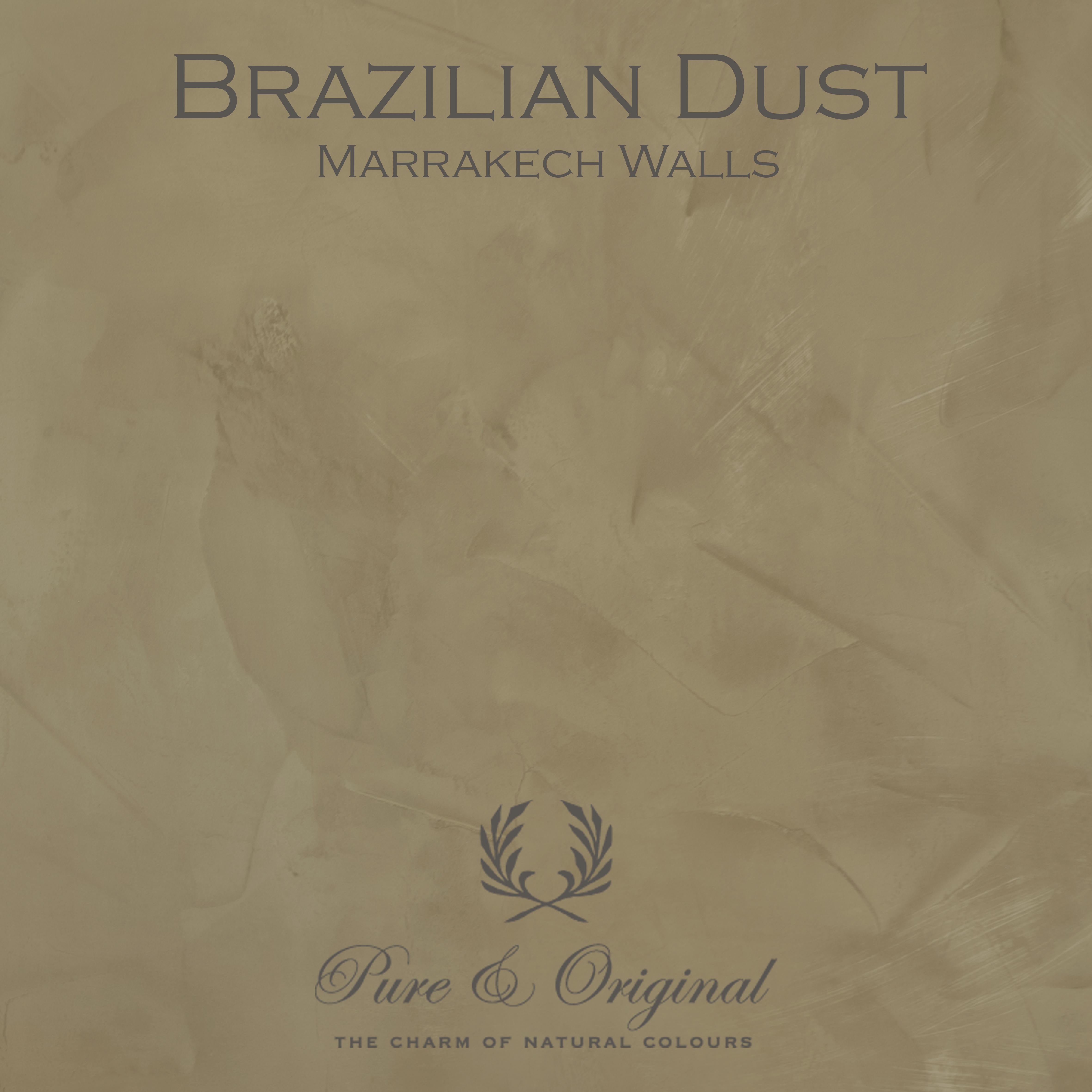 Kulör Brazilian Dust, Marrakech Walls kalkfärg