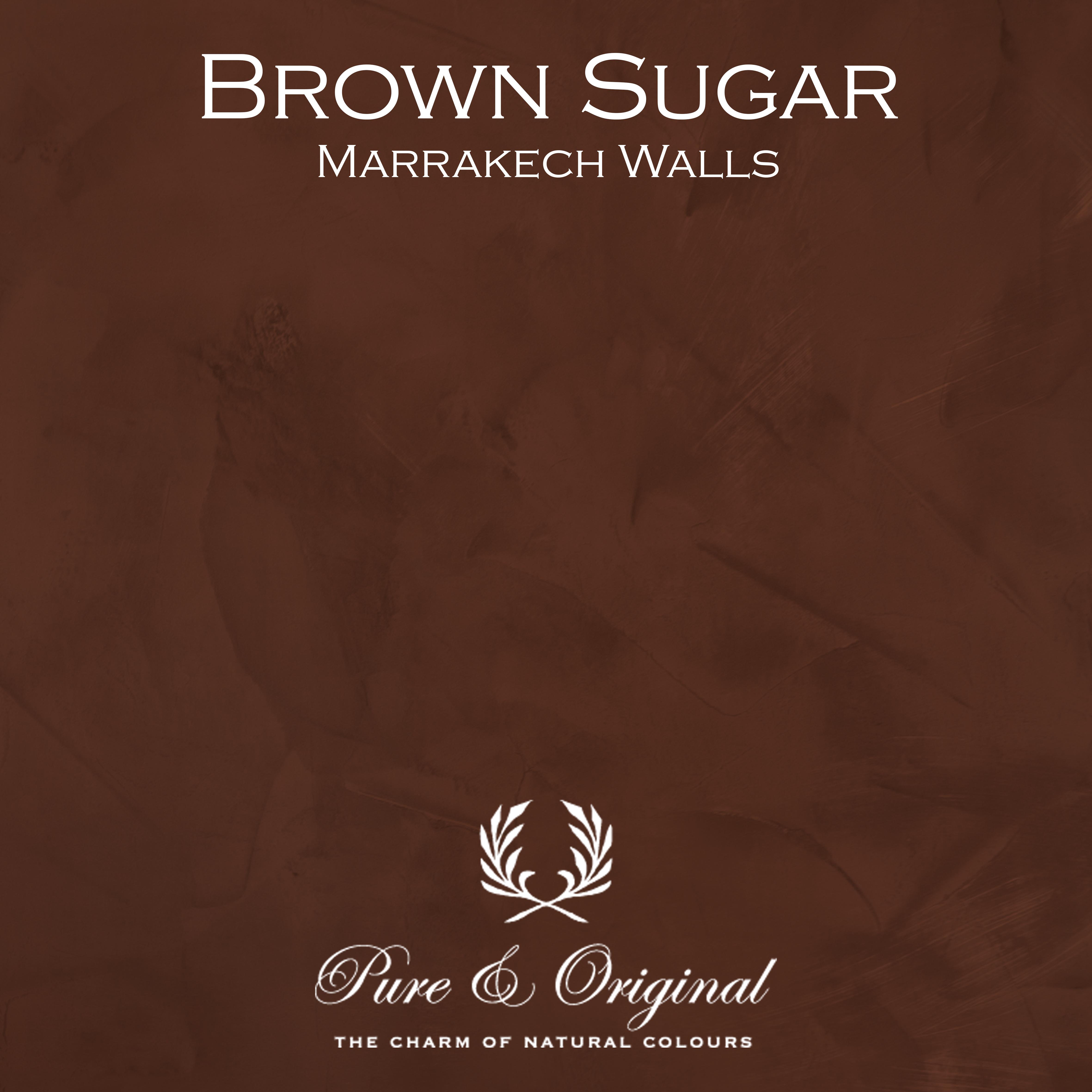Kulör Brown Sugar, Marrakech Walls kalkfärg