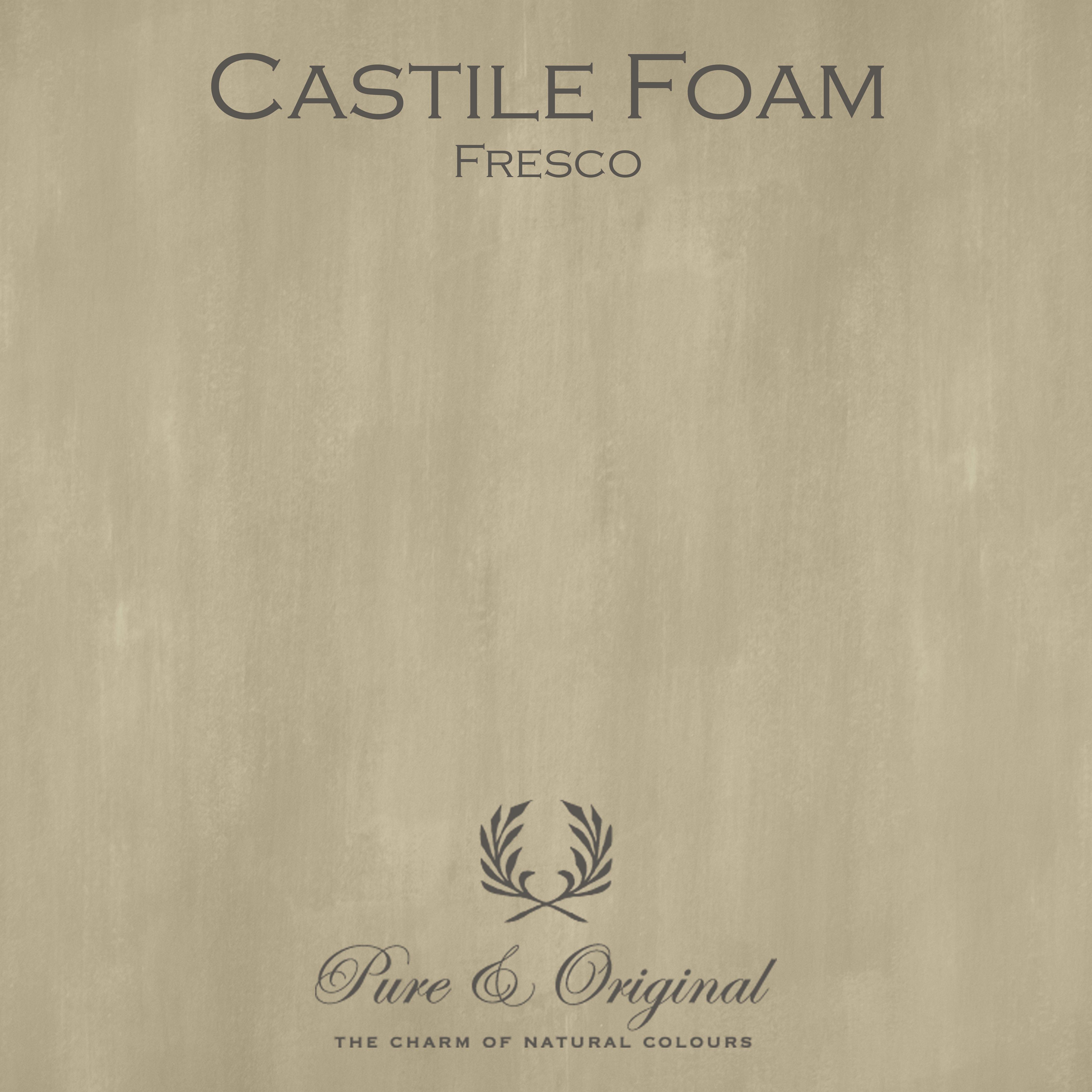 Kulör Castile Foam, Fresco kalkfärg