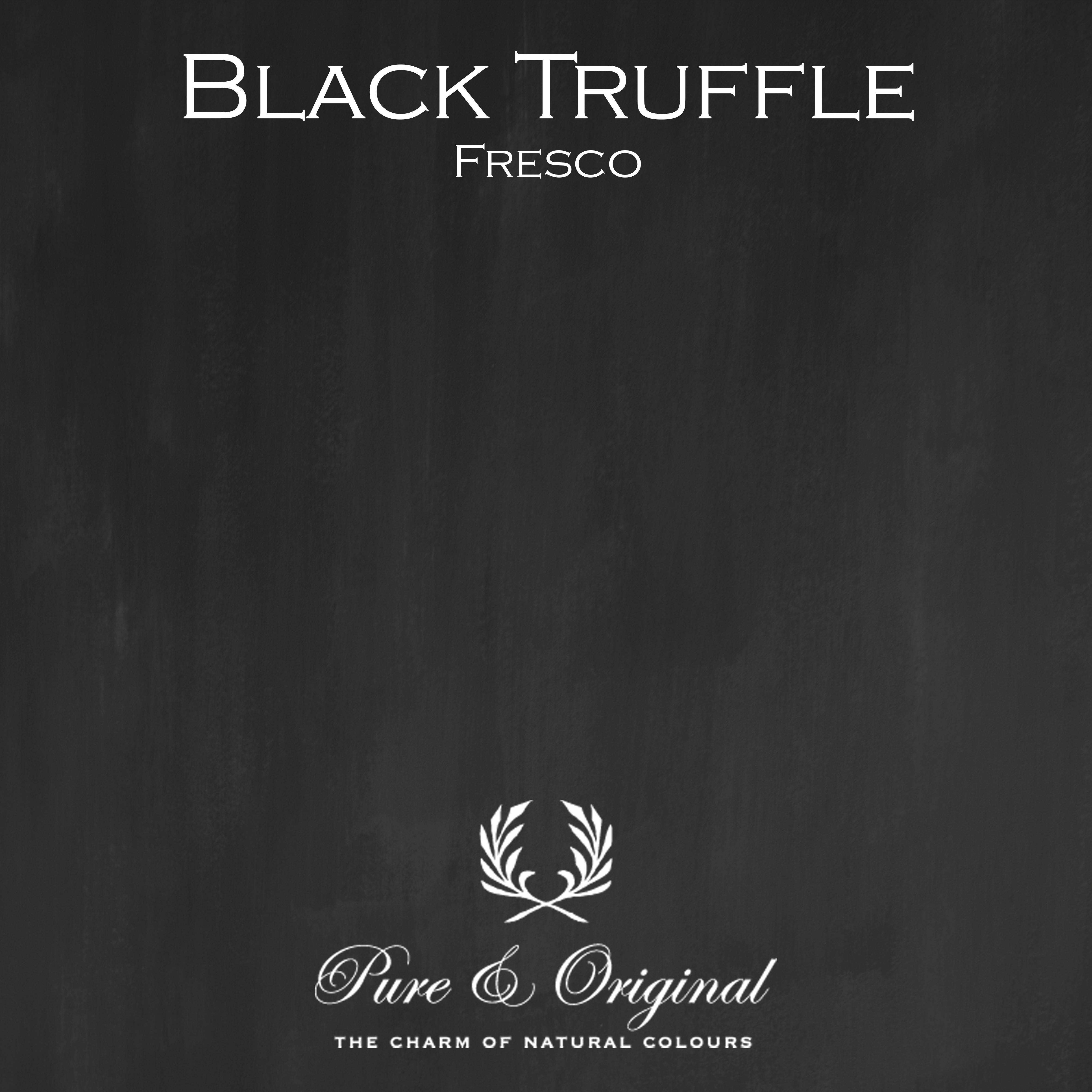 Kulör Black Truffle, Fresco kalkfärg