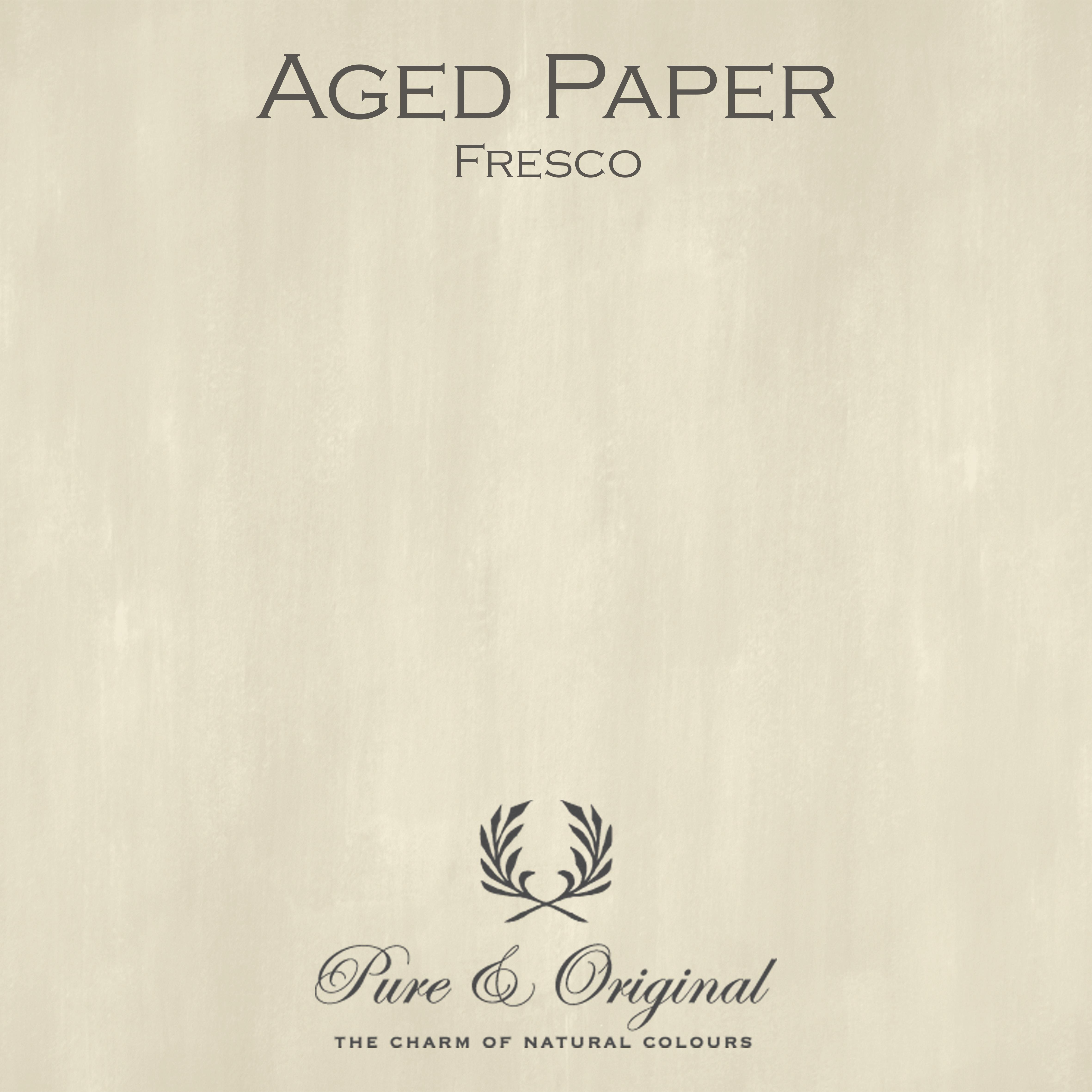 Kulör Aged Paper, Fresco kalkfärg