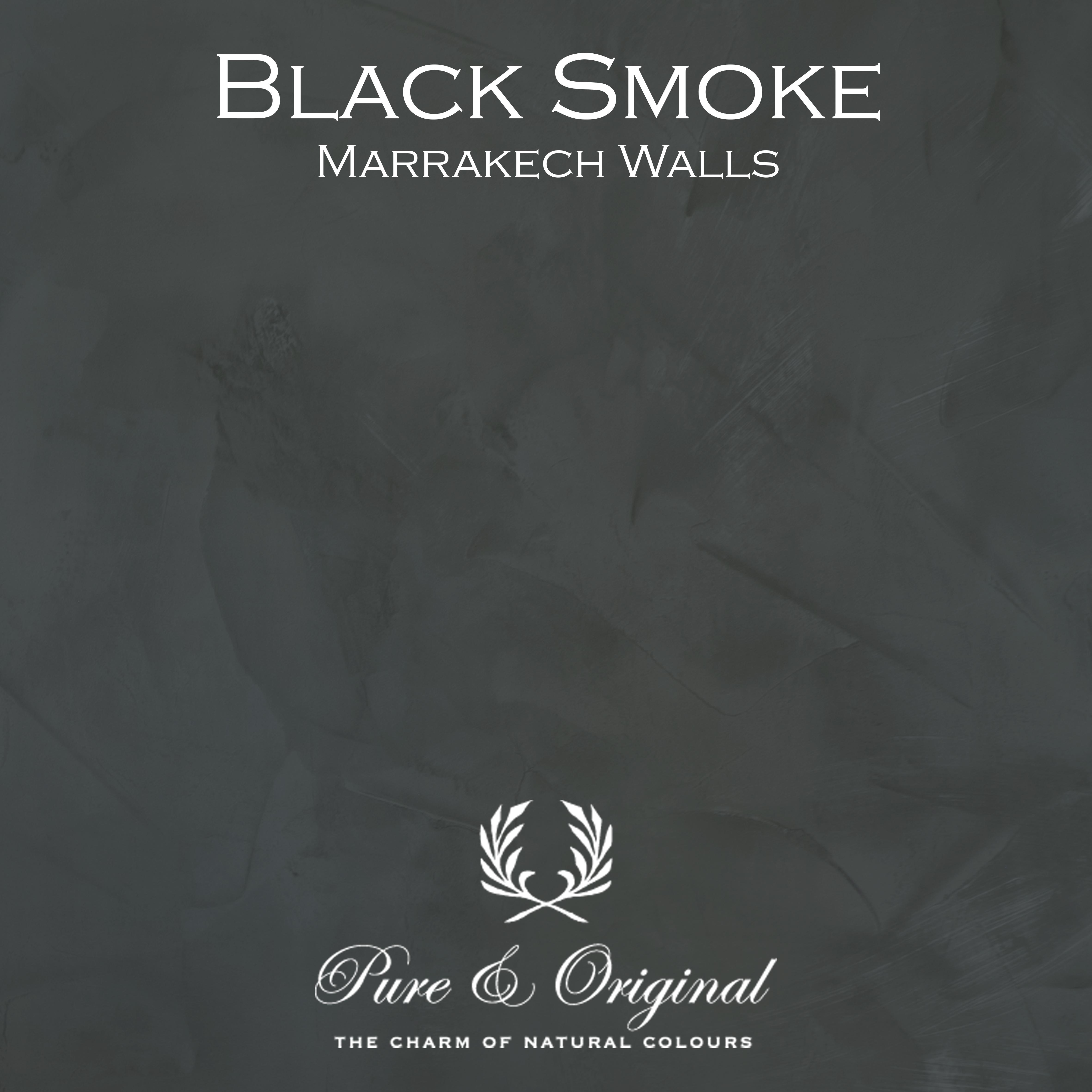 Kulör Black Smoke, Marrakech Walls kalkfärg