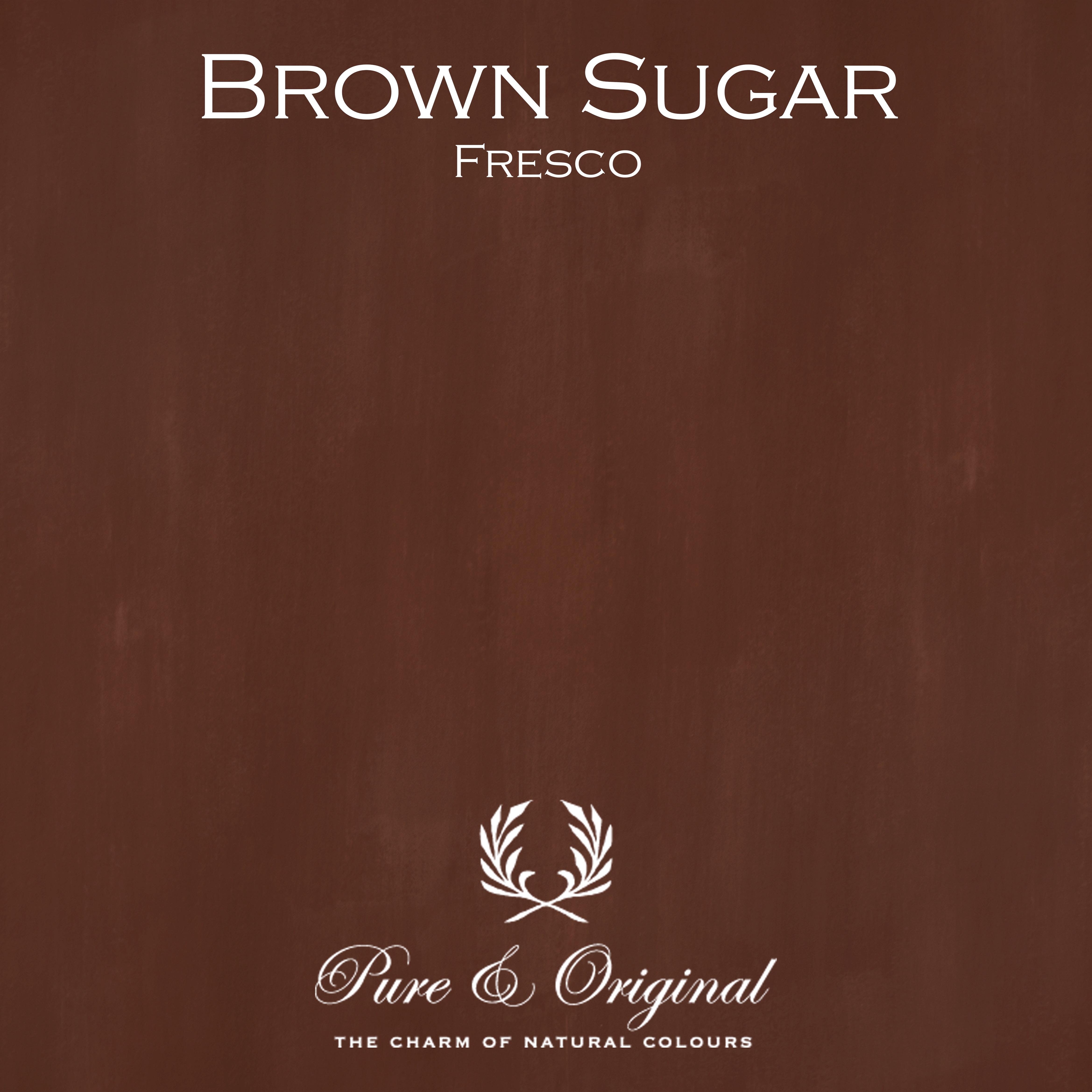 Kulör Brown Sugar, Fresco kalkfärg