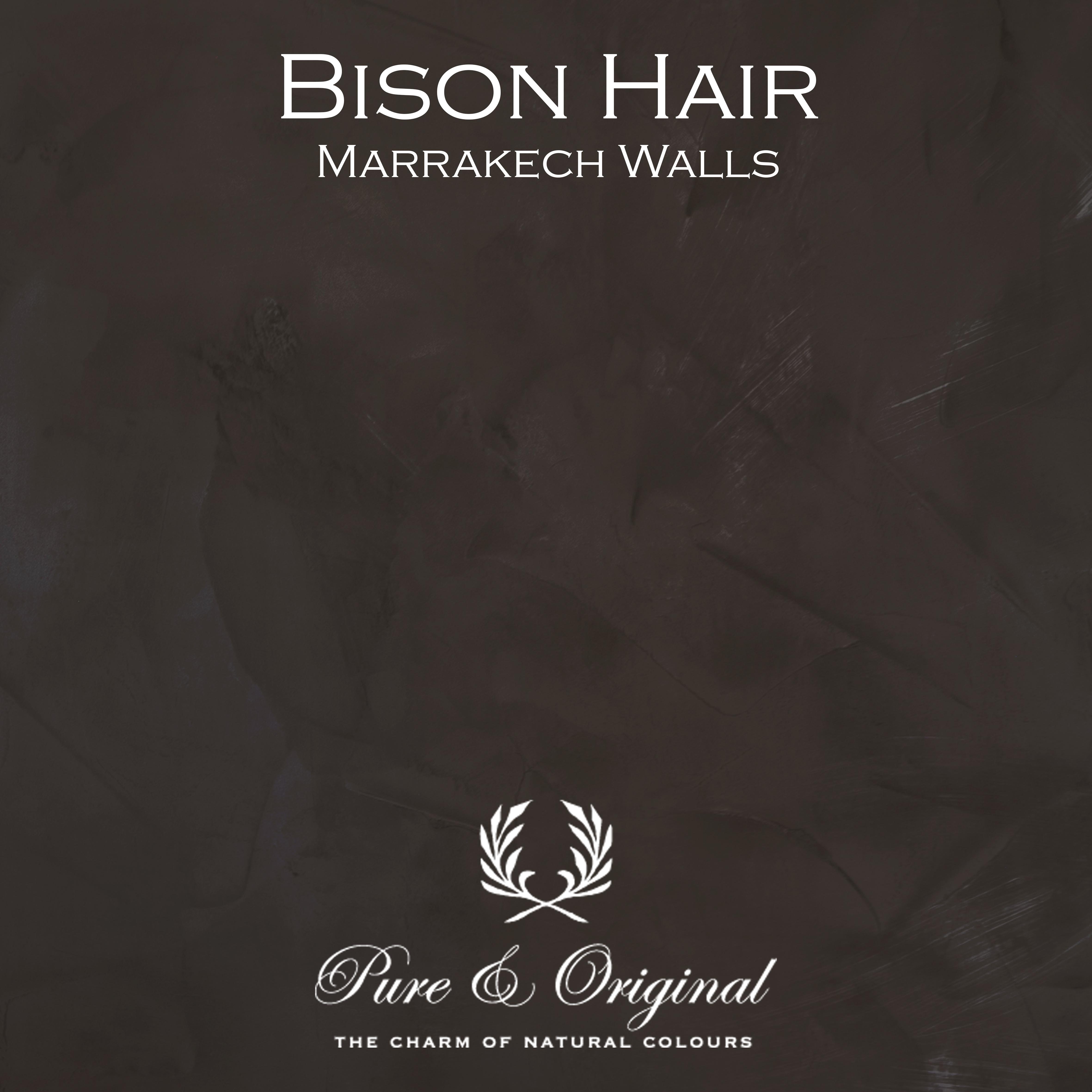 Kulör Bison Hair, Marrakech Walls kalkfärg