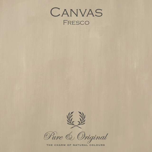 Kulör Canvas, Fresco kalkfärg