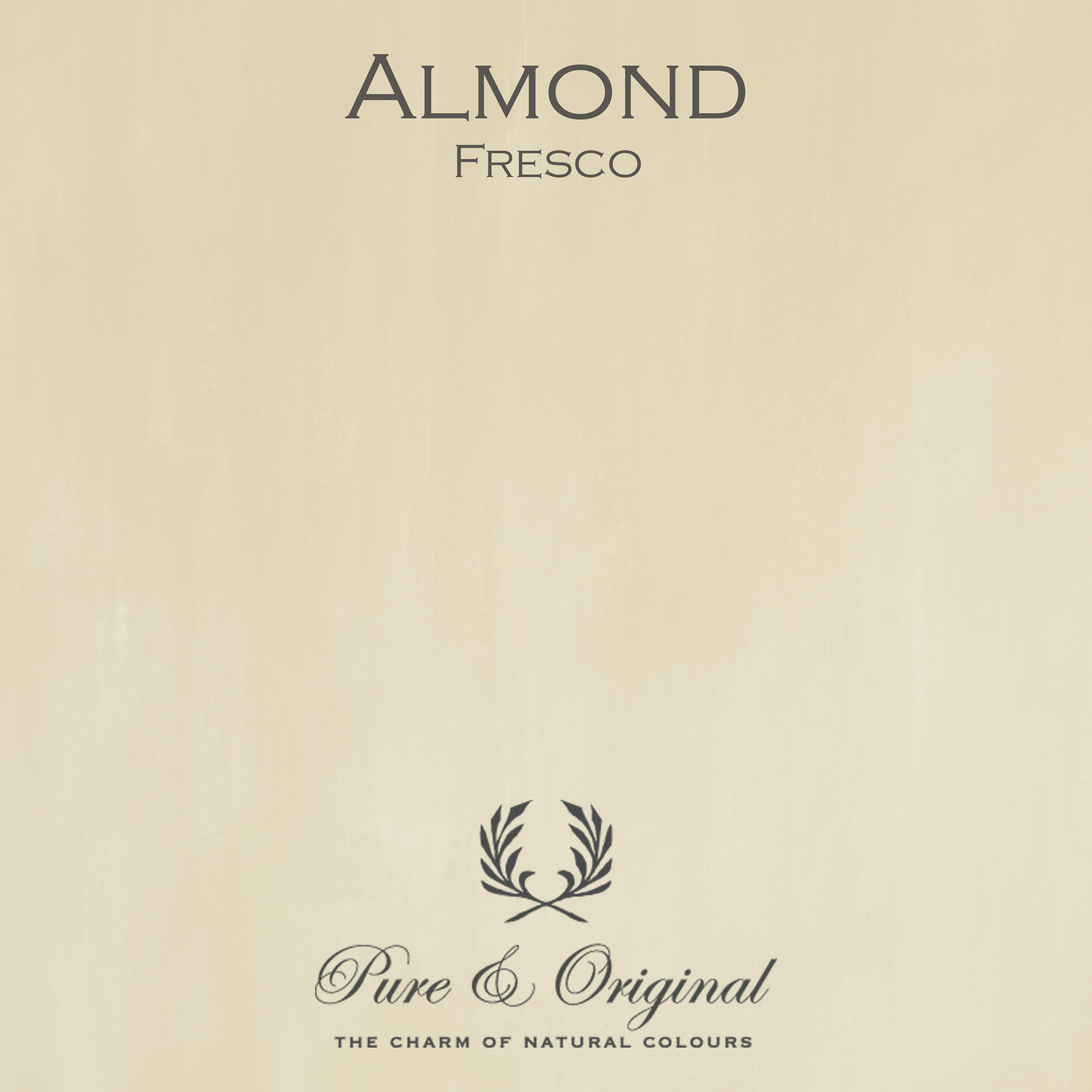Kulör Almond, Fresco kalkfärg