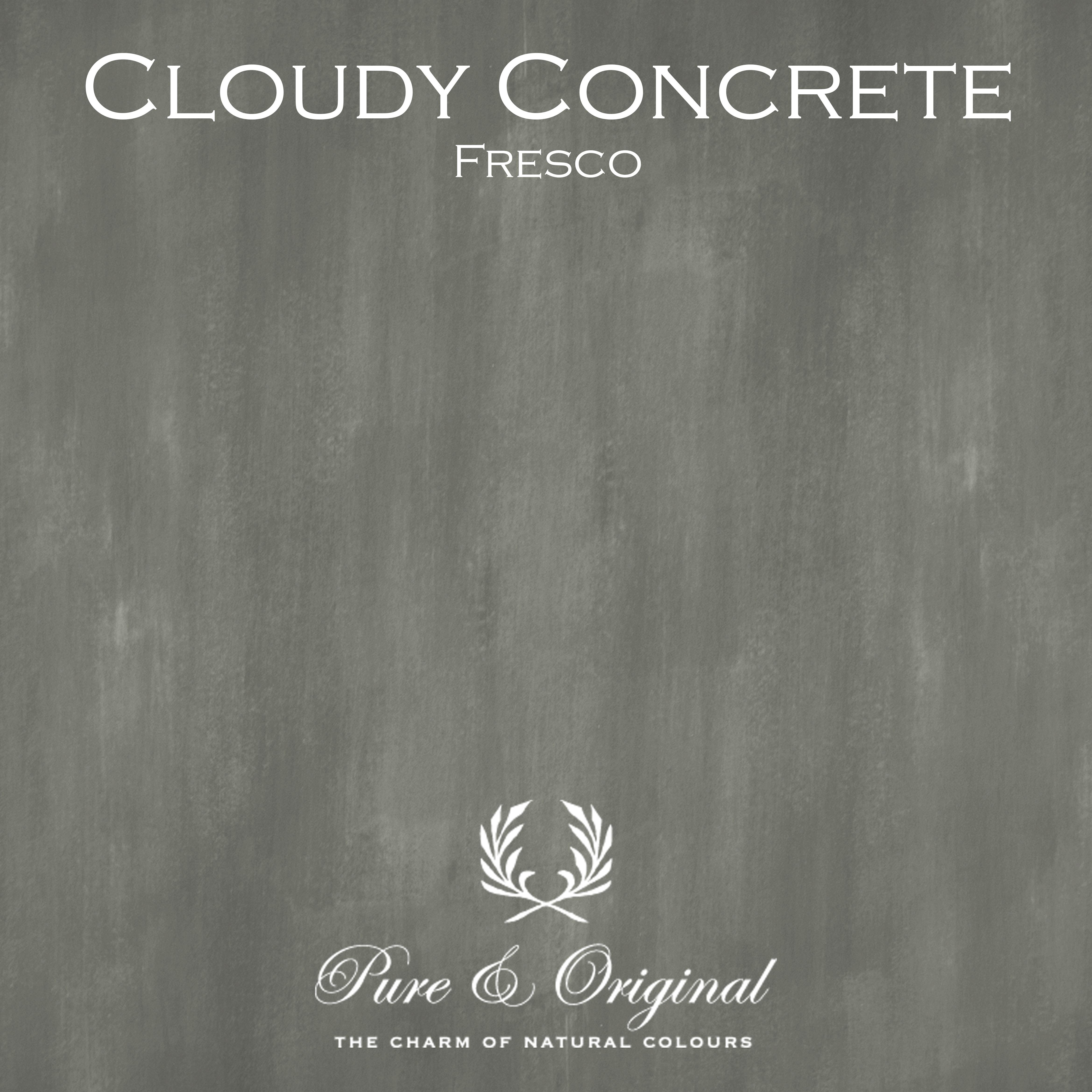 Kulör Cloudy Concrete, Fresco kalkfärg