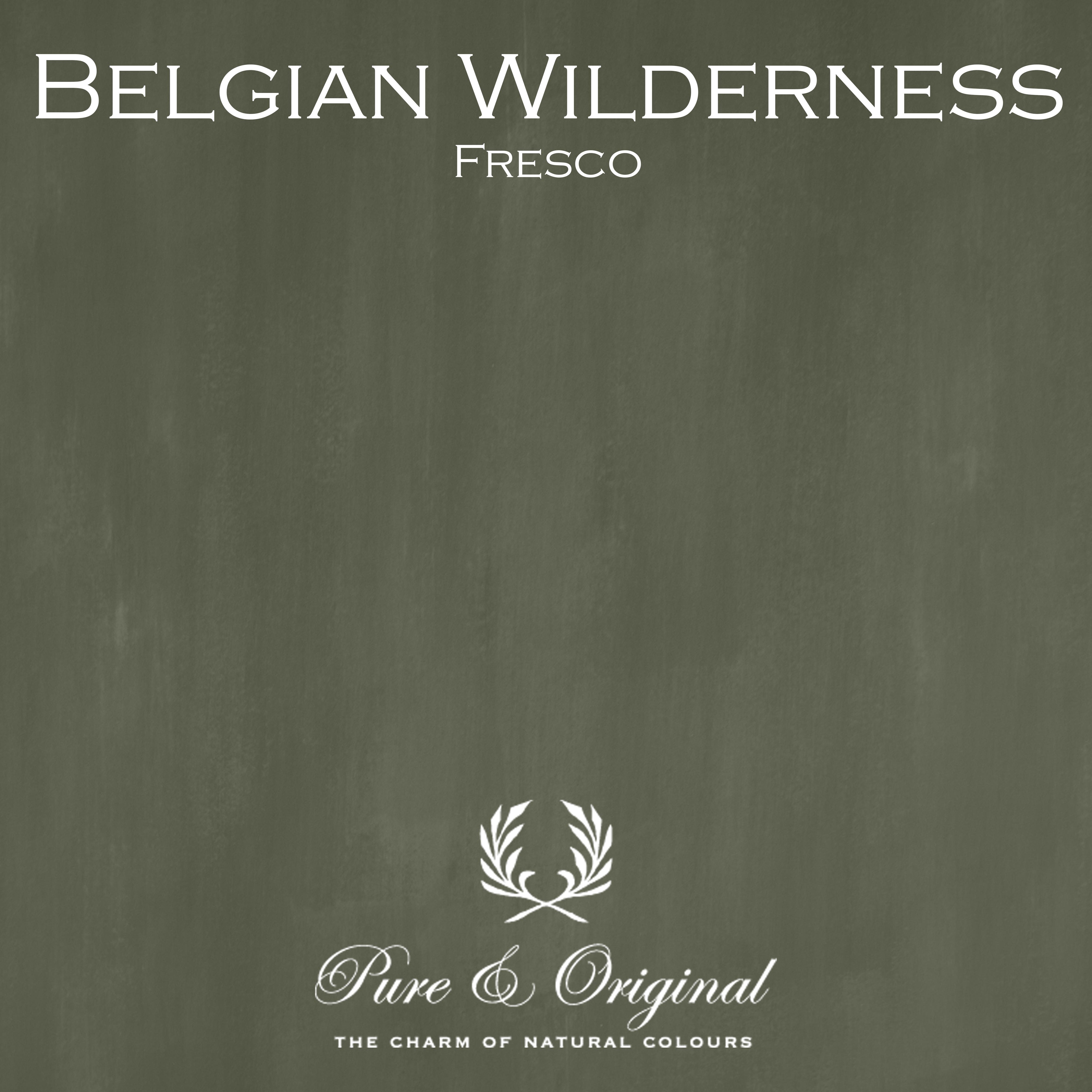Kulör Belgian Wilderness, Fresco kalkfärg