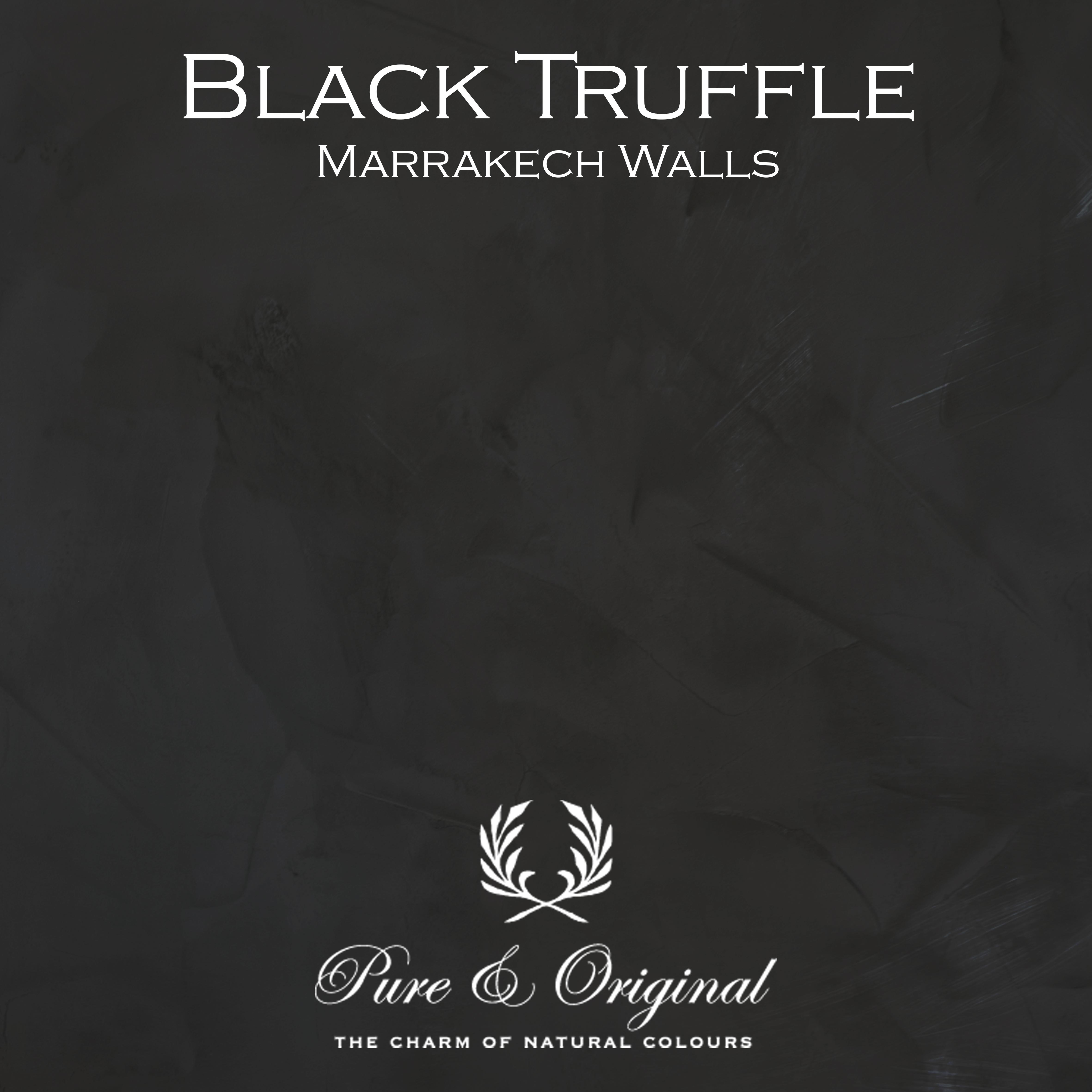 Kulör Black Truffle, Marrakech Walls kalkfärg