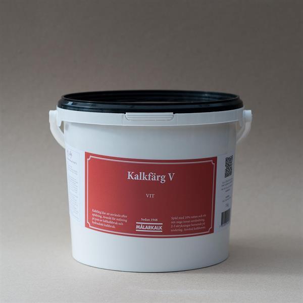 Kalkfärg V, Vit, 5 kg