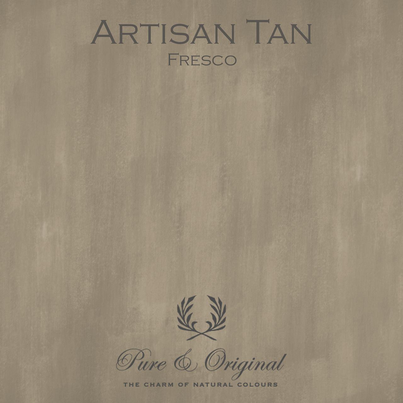 Kulör Artisan Tan, Fresco kalkfärg