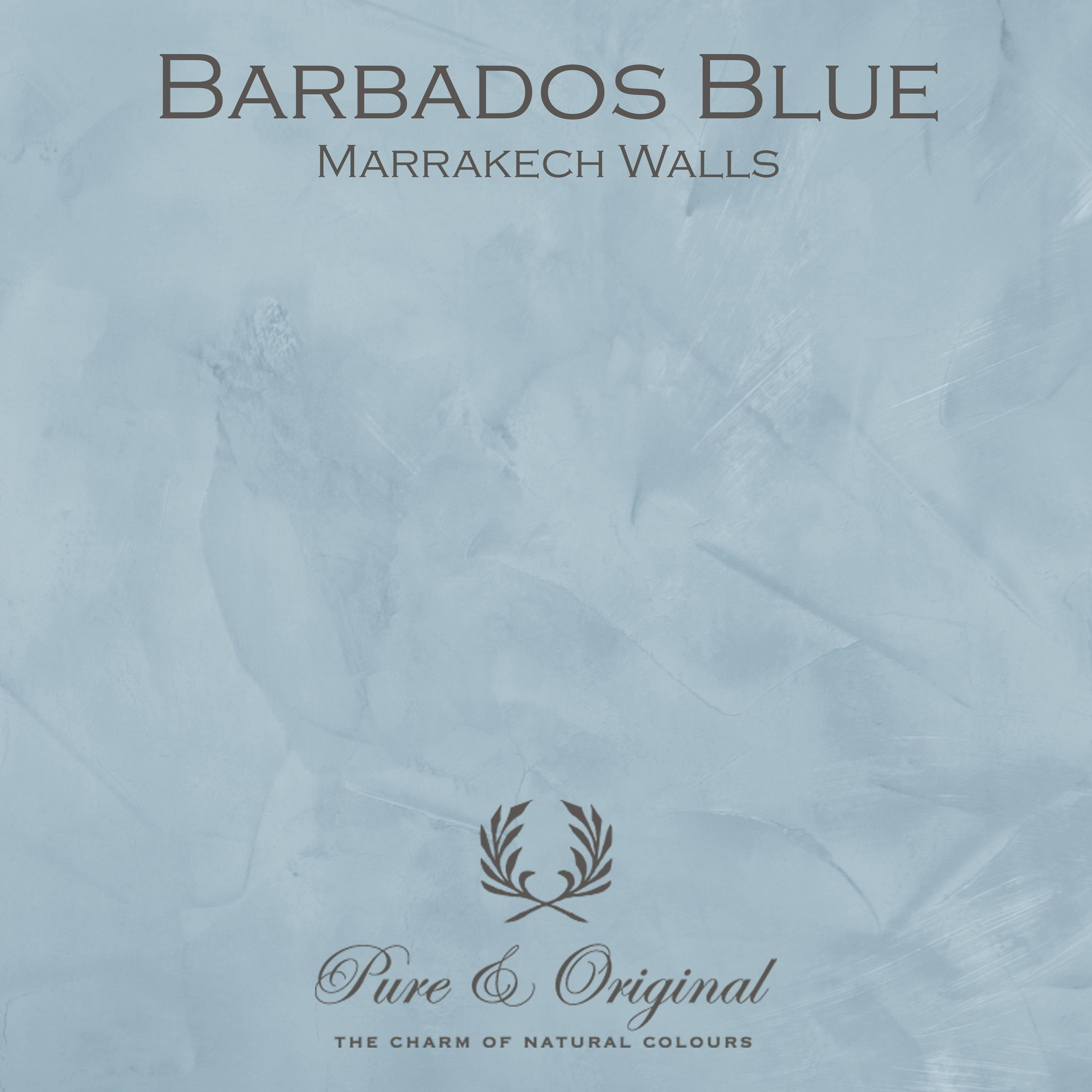 Kulör Barbados Blue, Marrakech Walls  kalkfärg