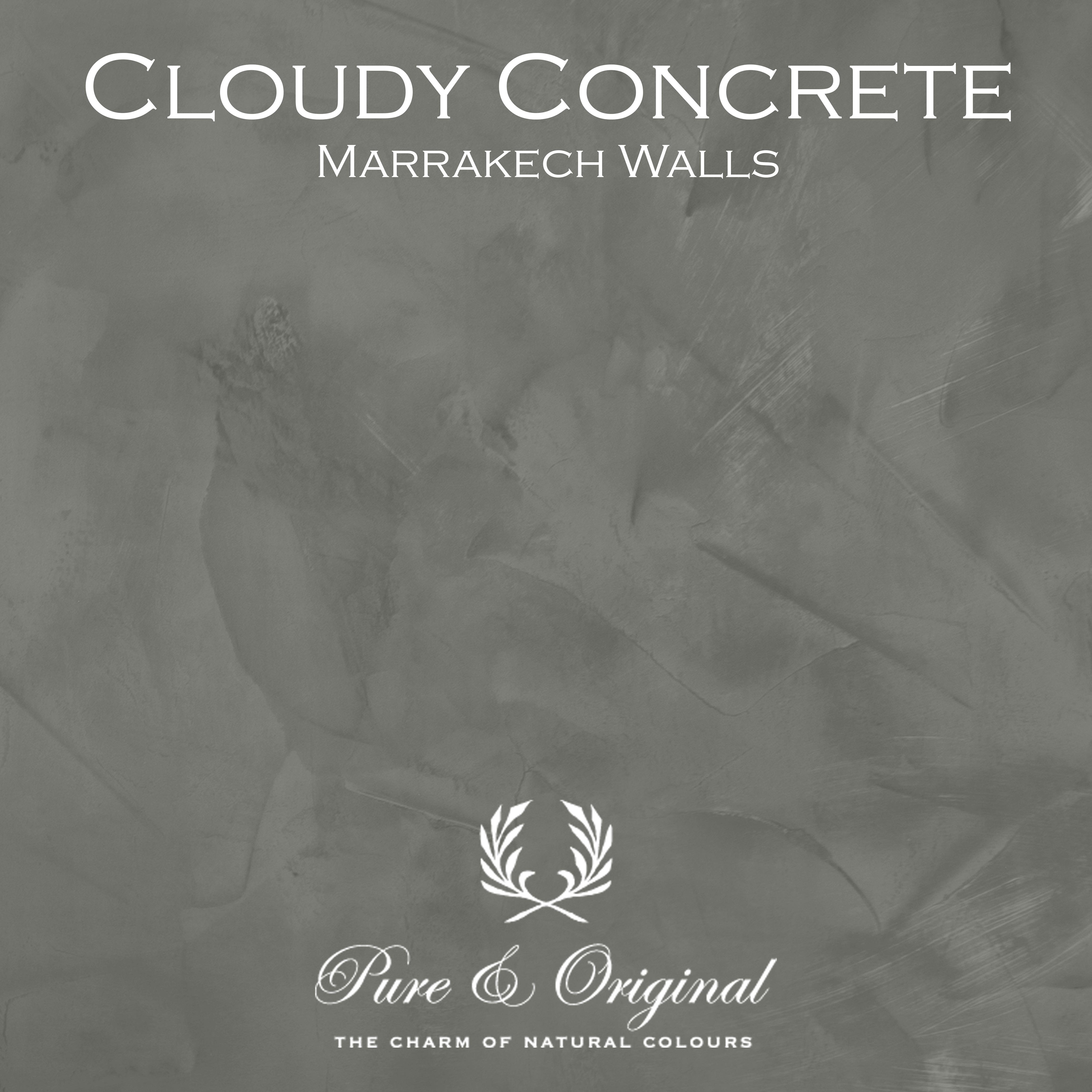 Kulör Cloudy Concrete D17, Marrakech Walls