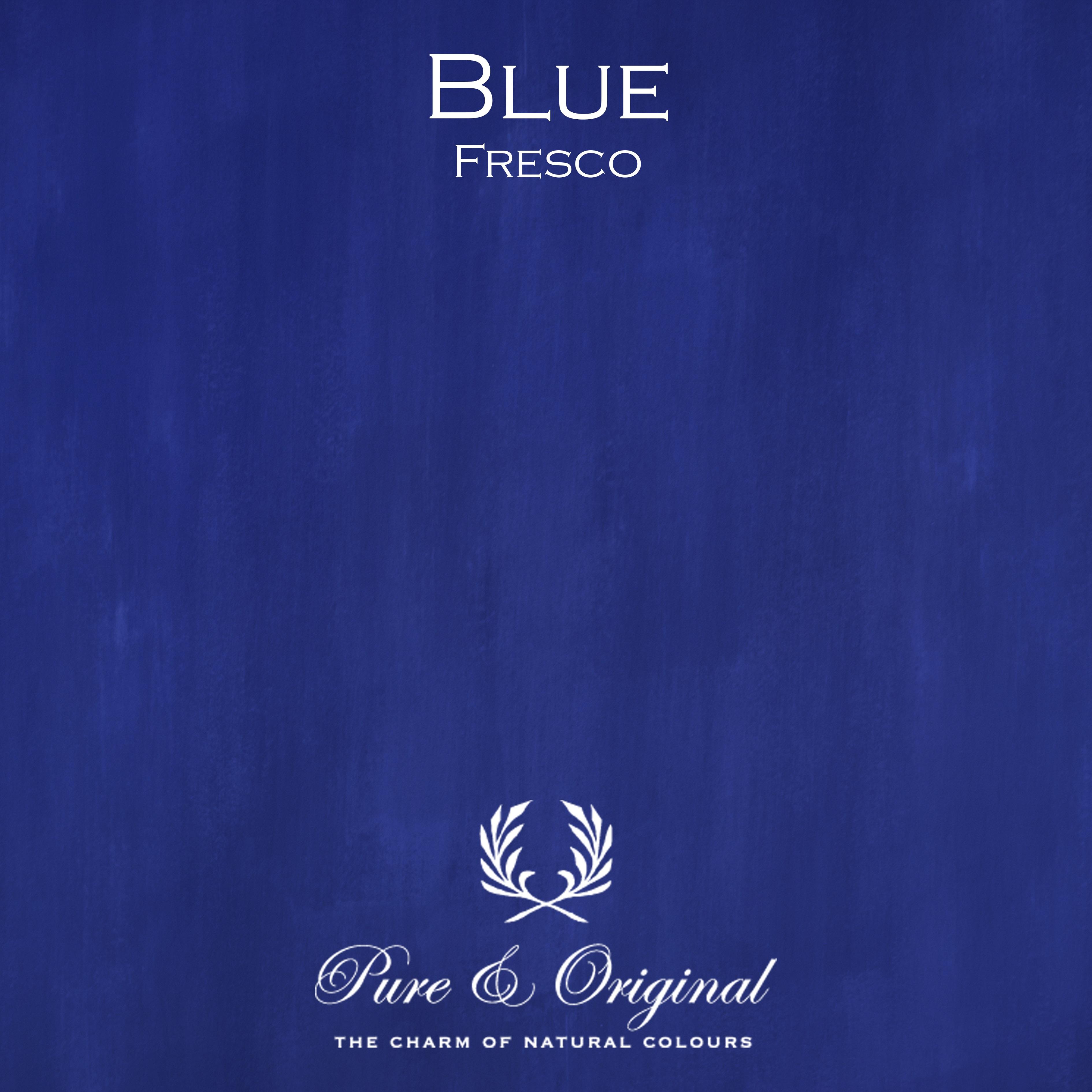 Kulör Blue, Fresco kalkfärg