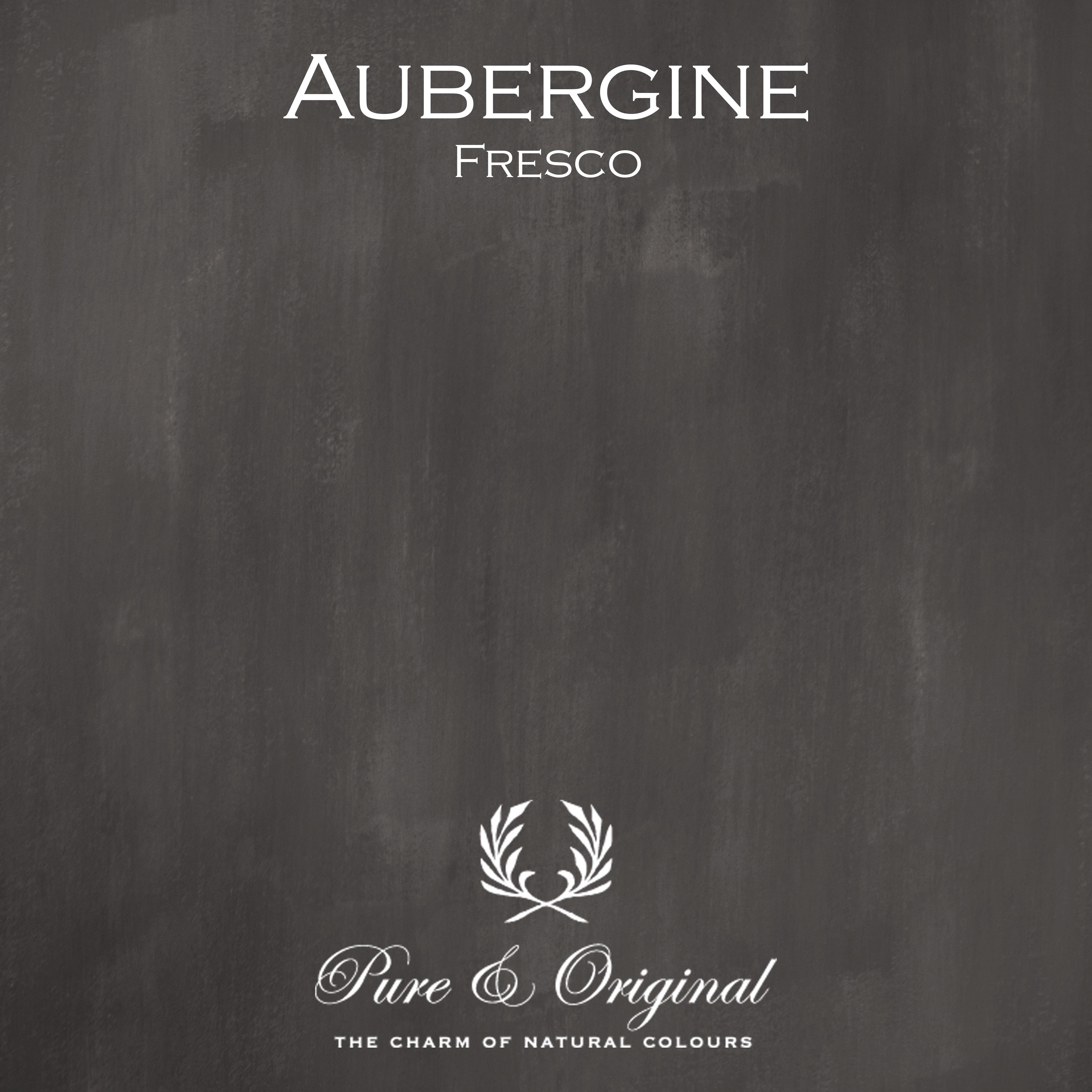 Kulör Aubergine, Fresco kalkfärg