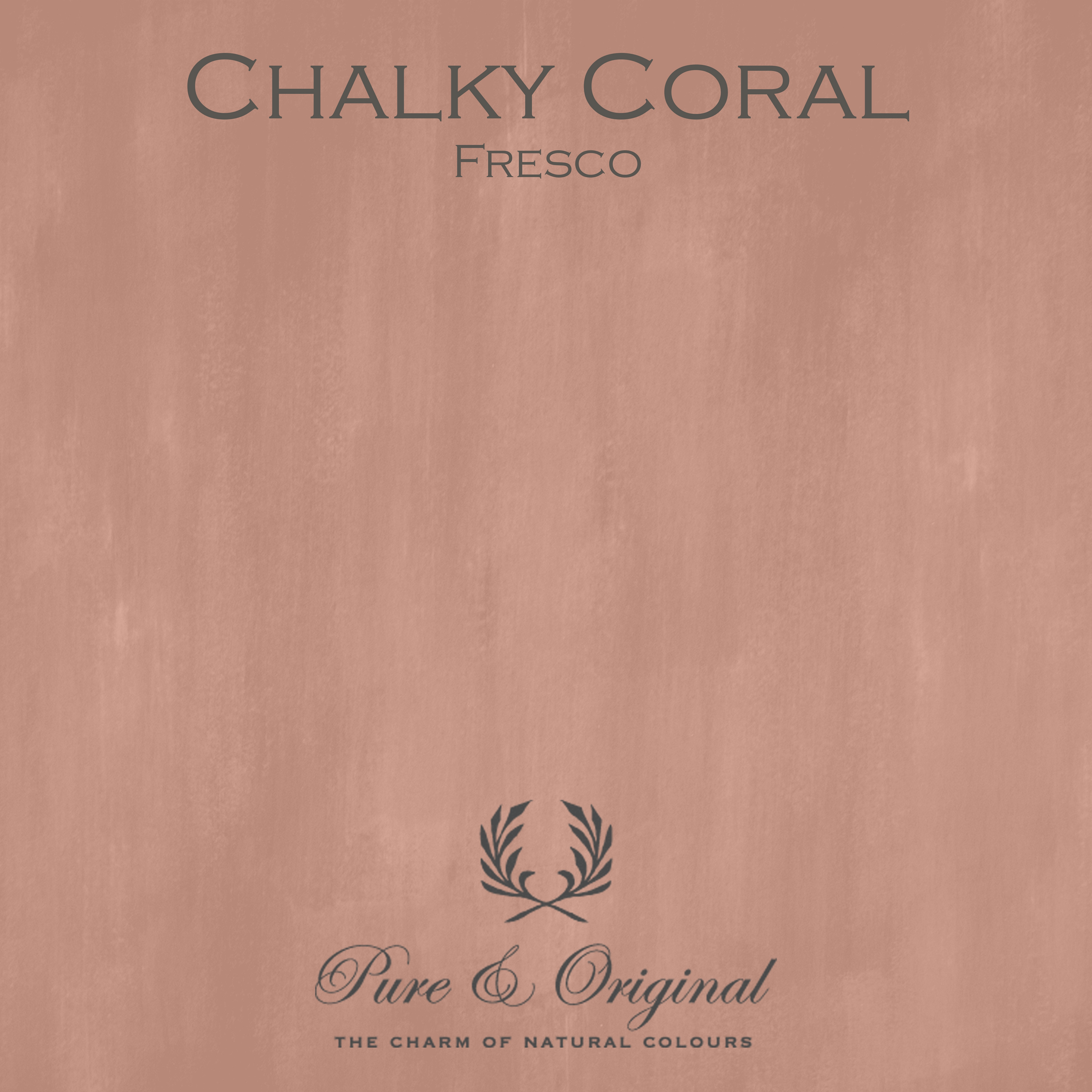 Kulör Chalky Coral, Fresco kalkfärg