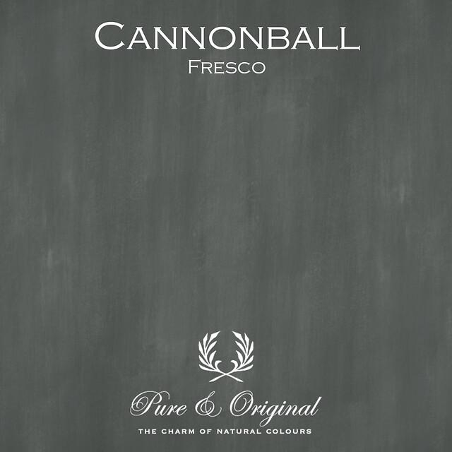 Kulör Cannonball, Fresco kalkfärg