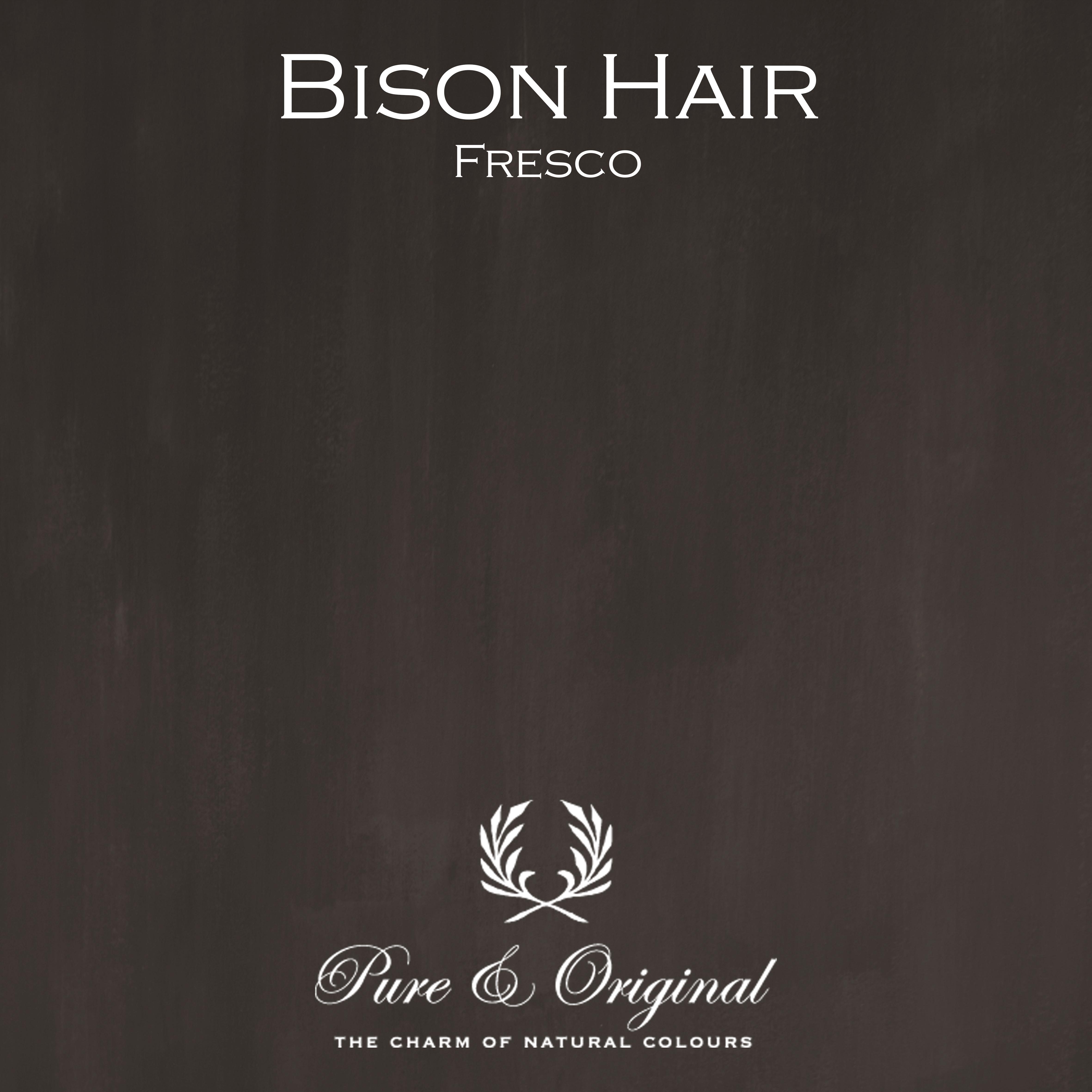 Kulör Bison Hair, Fresco kalkfärg