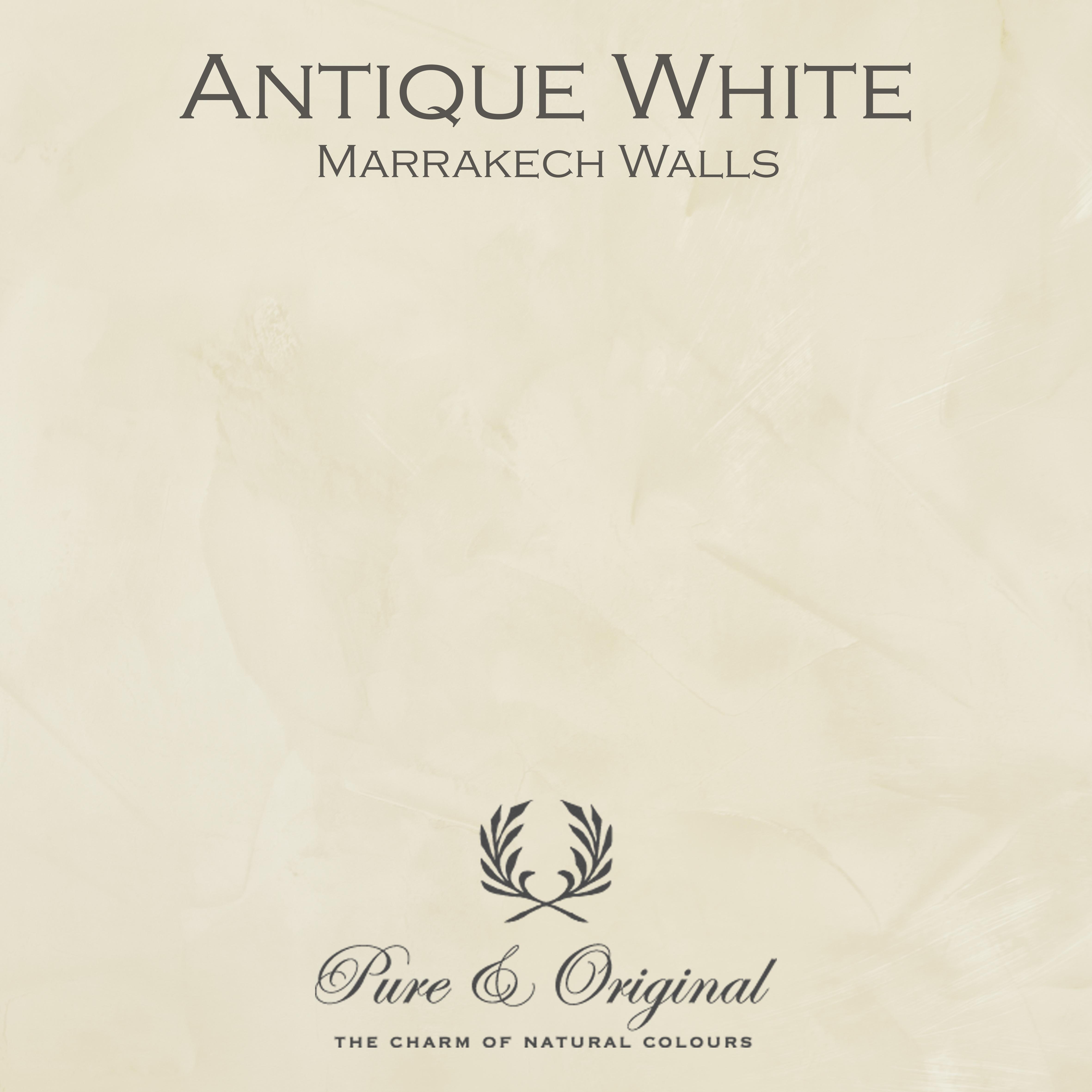 Kulör Antique White, Marrakech Walls kalkfärg