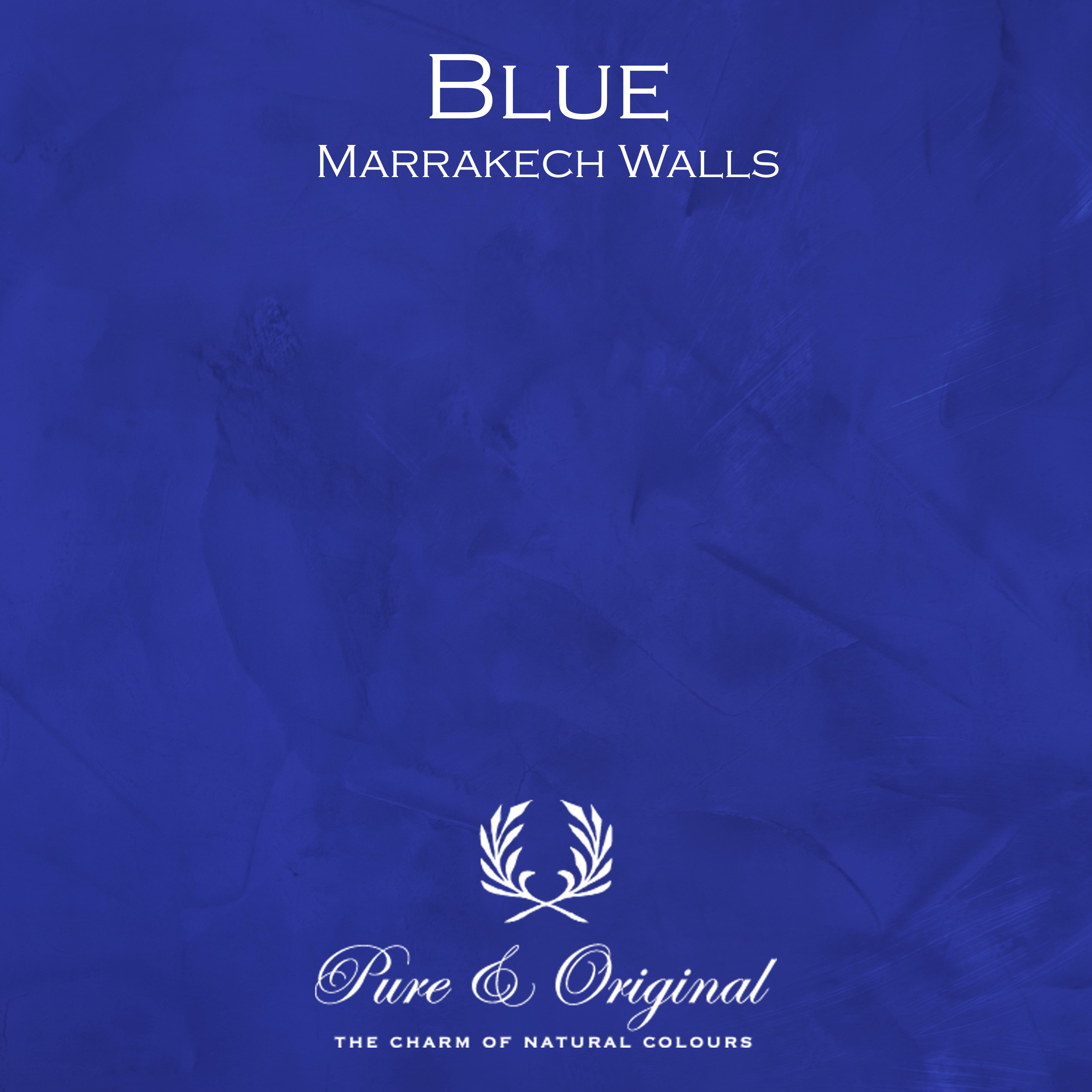 Kulör Blue, Marrakech Walls kalkfärg
