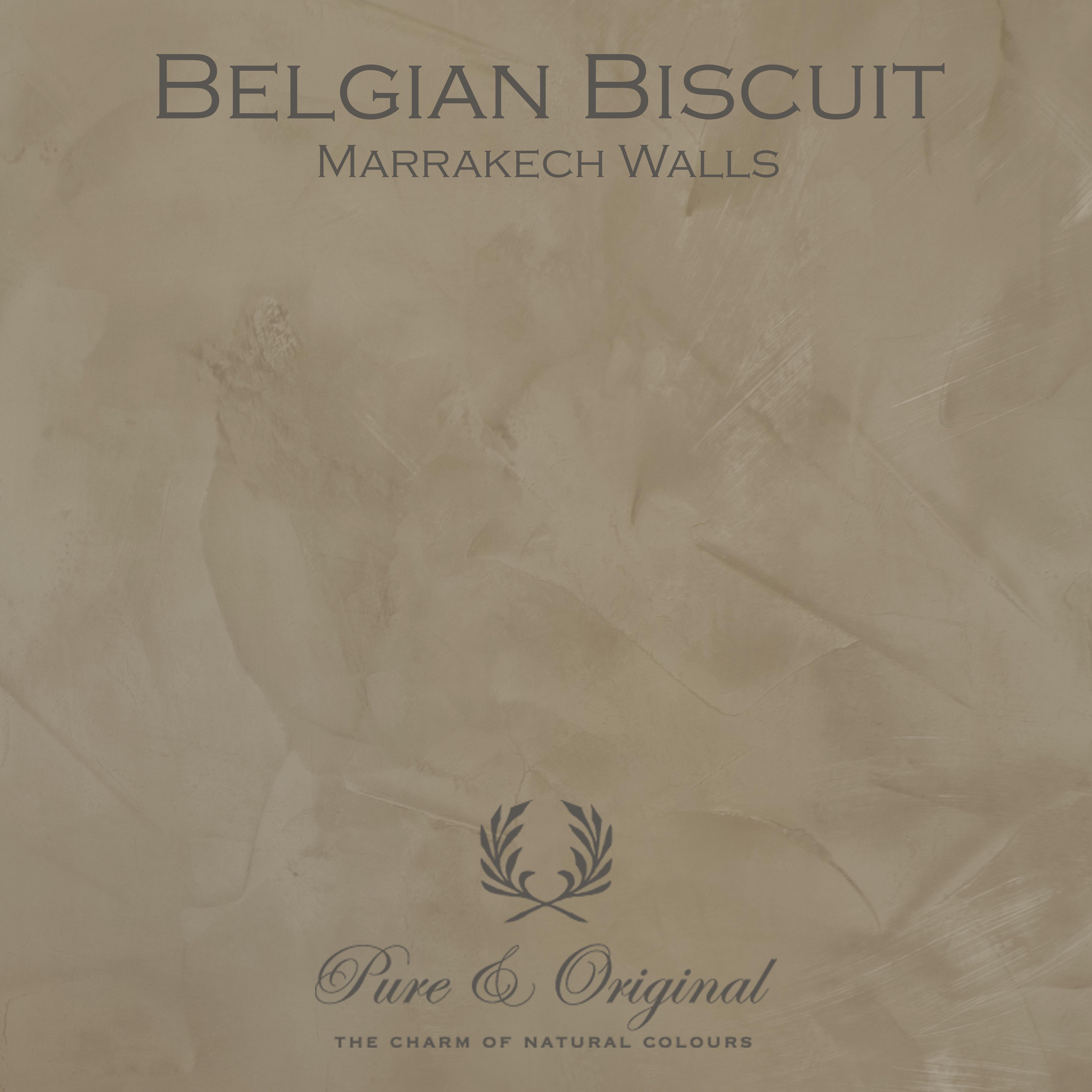Kulör Belgian Bisquit, Marrakech Walls kalkfärg