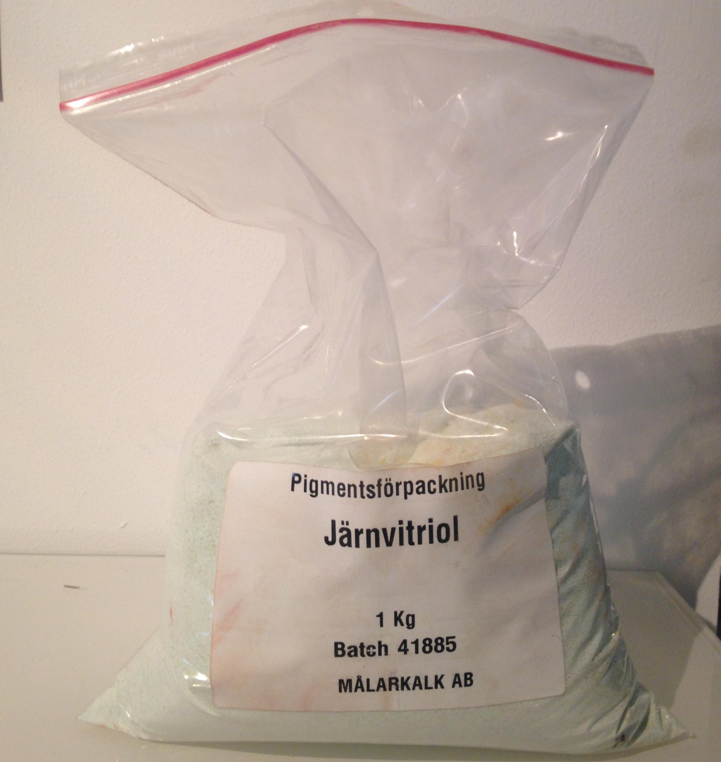 Järnvitriol (kristall), 1 Kg