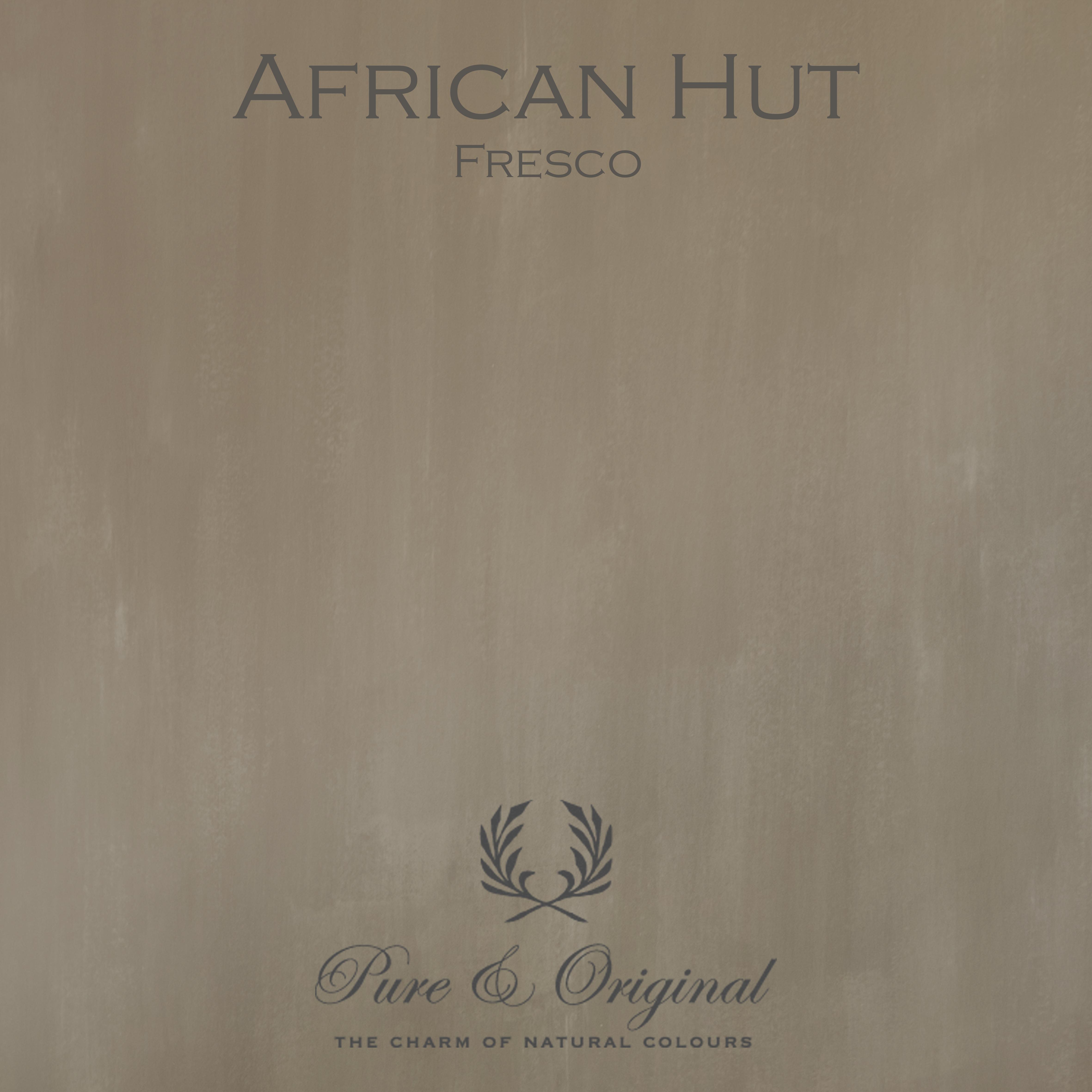 Kulör African Hut, Fresco kalkfärg
