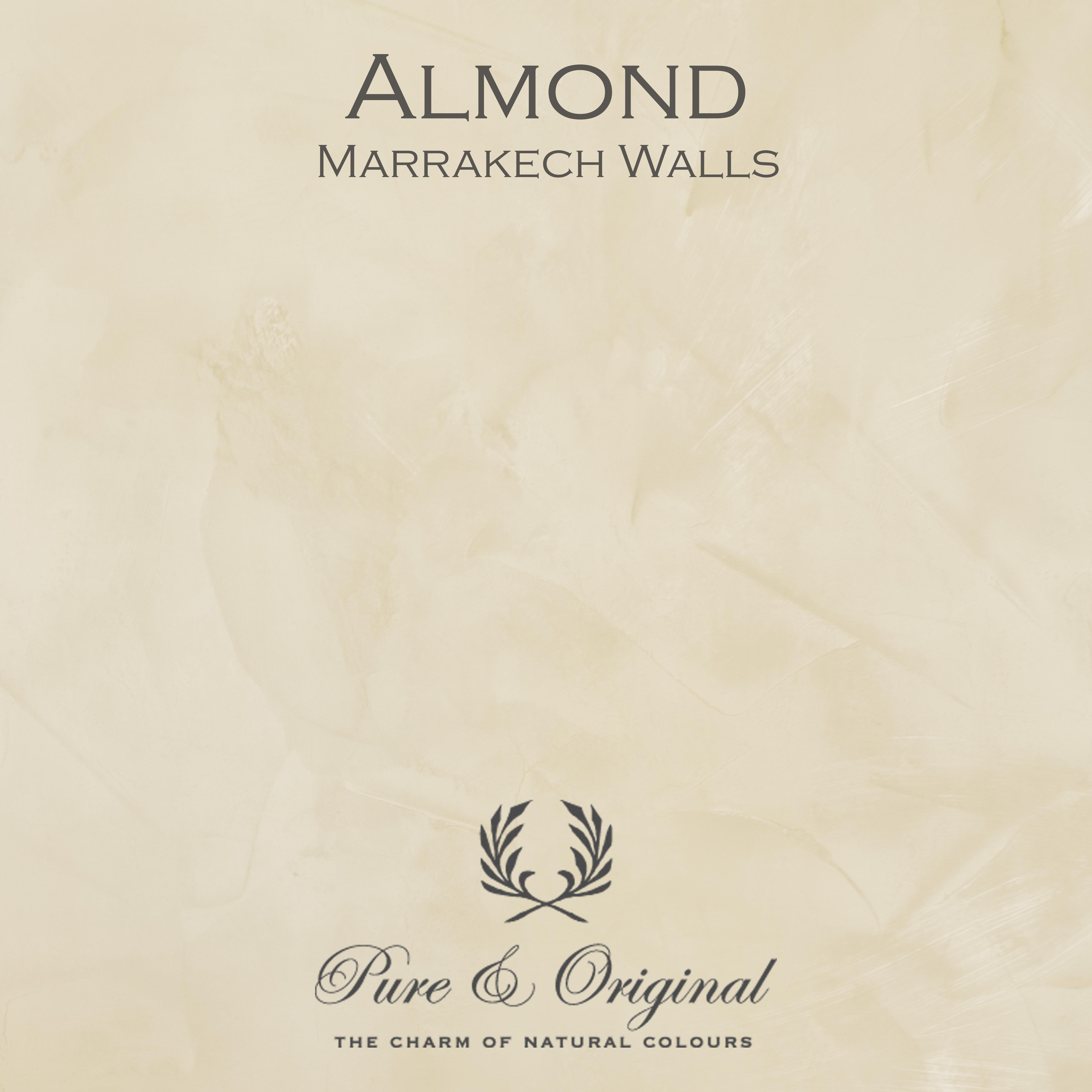 Kulör Almond, Marrakech Walls kalkfärg