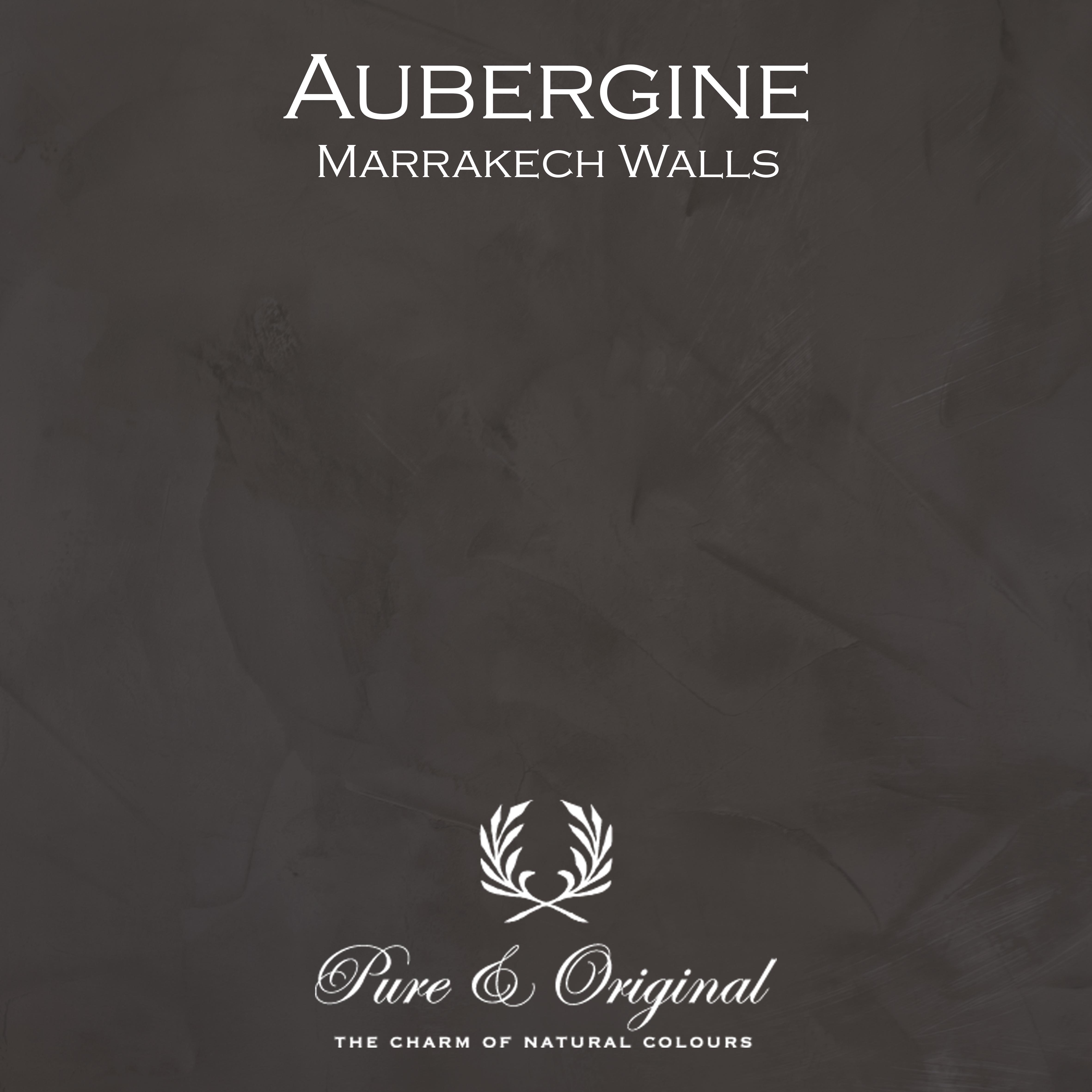 Kulör Aubergine, Marrakech Walls kalkfärg
