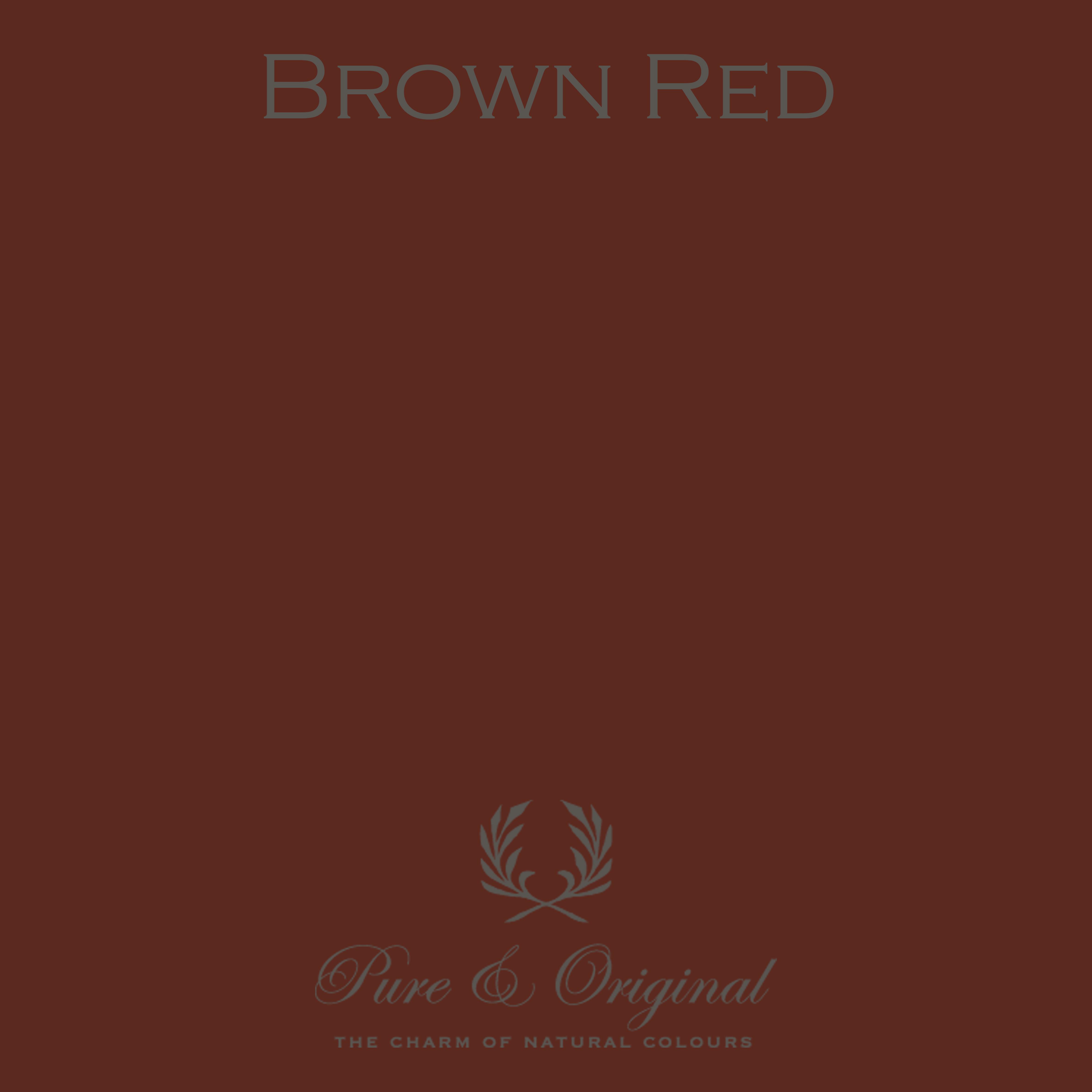 Kulör Brown Red, Classico kritfärg