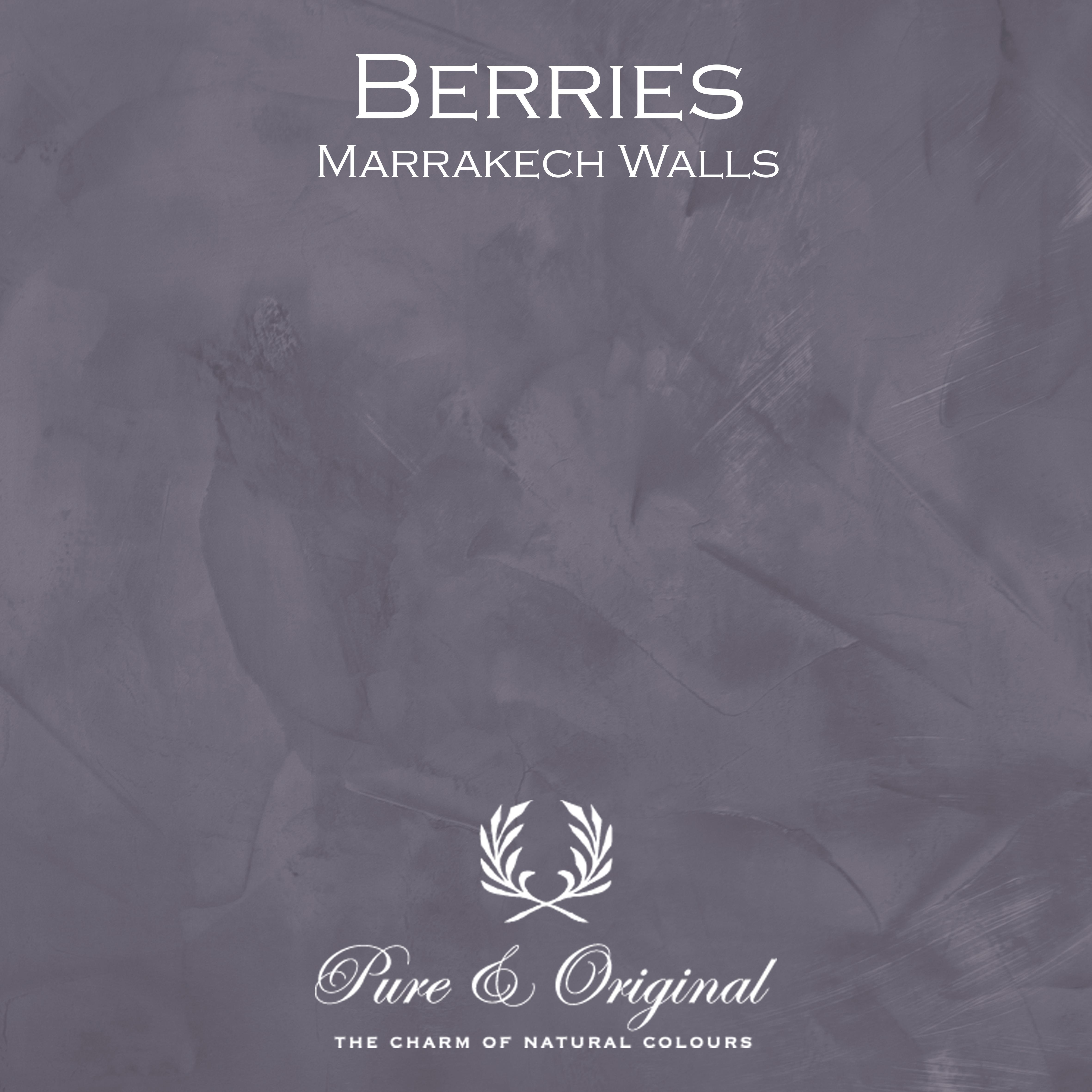 Kulör Berries,  Marrakech Walls kalkfärg