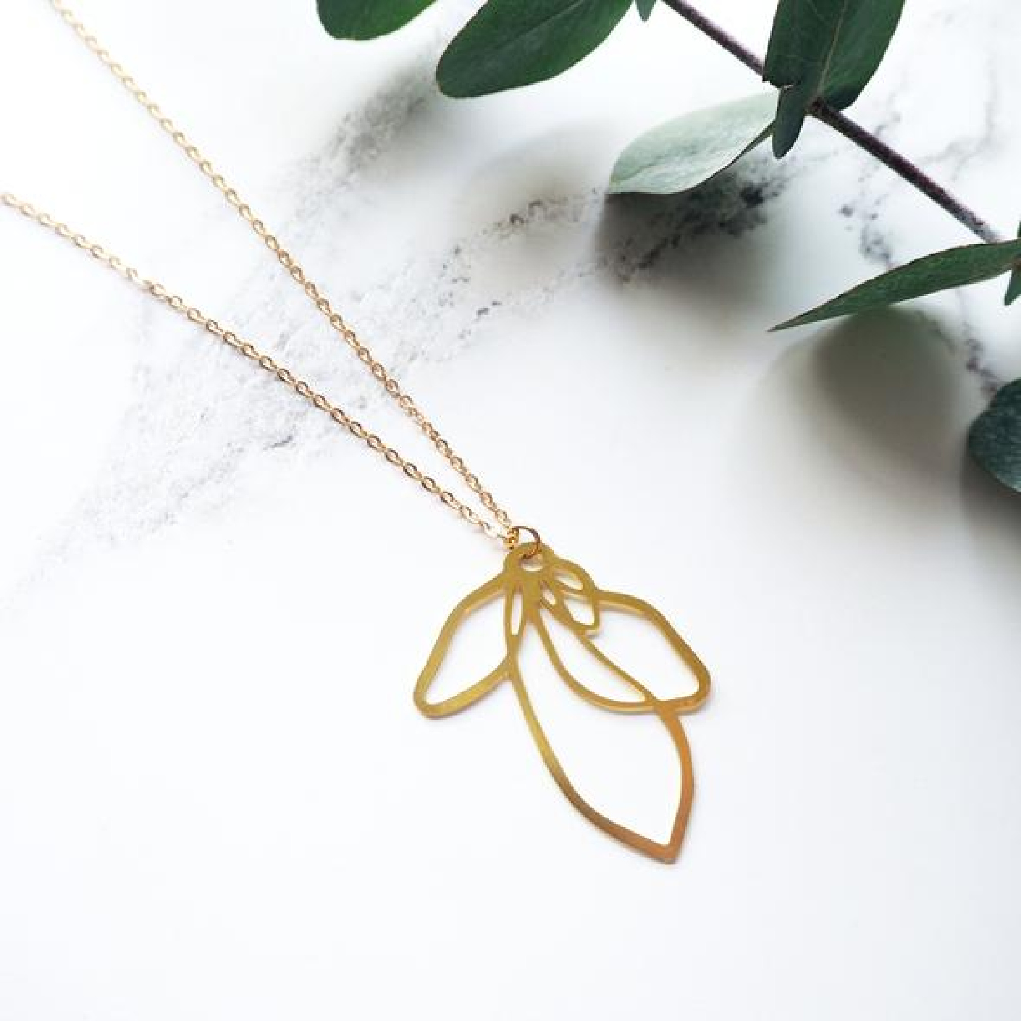 Petal Necklace by Mica Peet