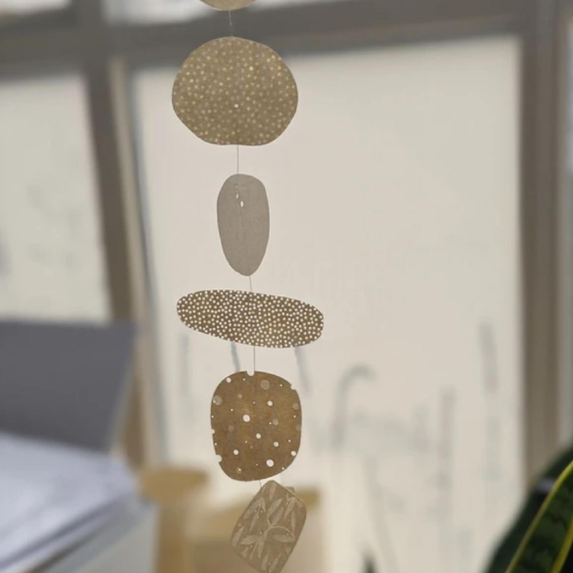 Set of Paper Pebbles by Hannah Nunn