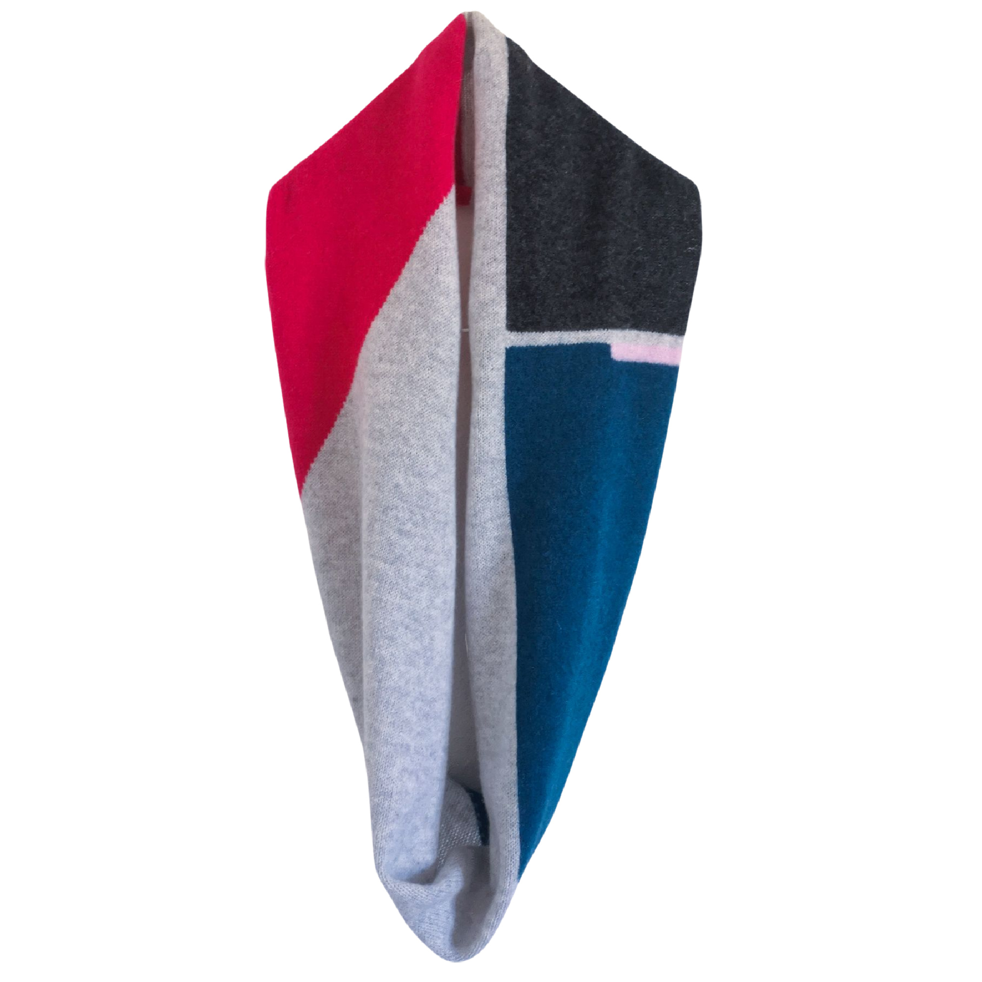 Intarsia Block Double Snood by Lyndsey Currie