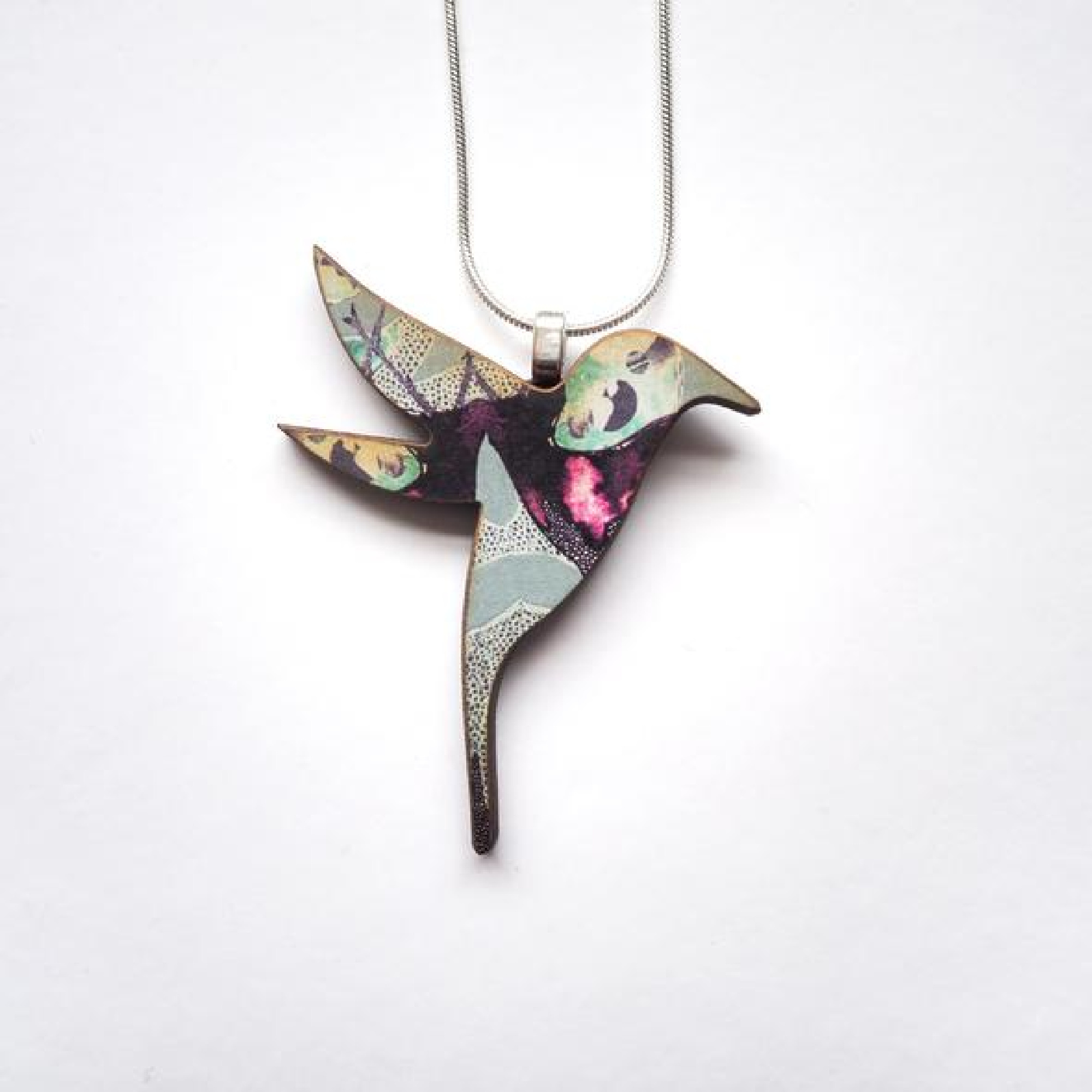 Hummingbird Necklace by Mica Peet