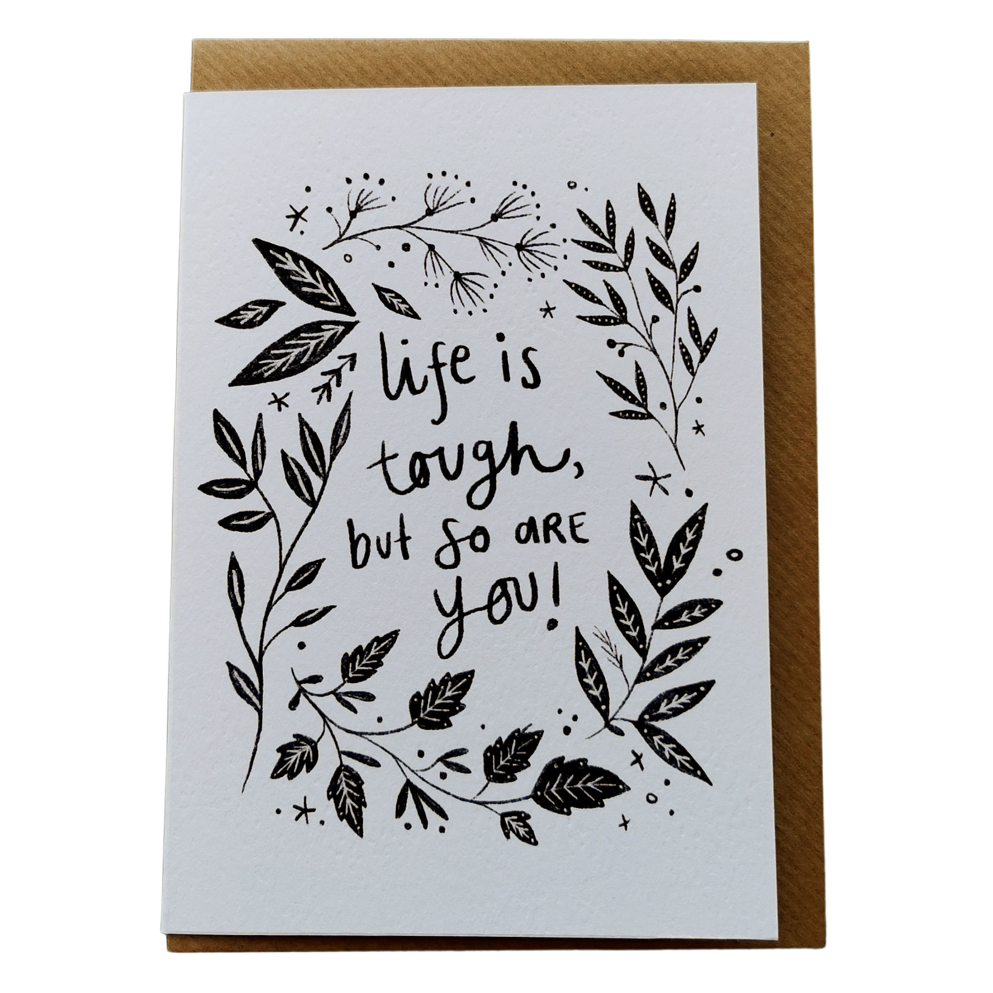 Life is Tough Card by Juniper Press