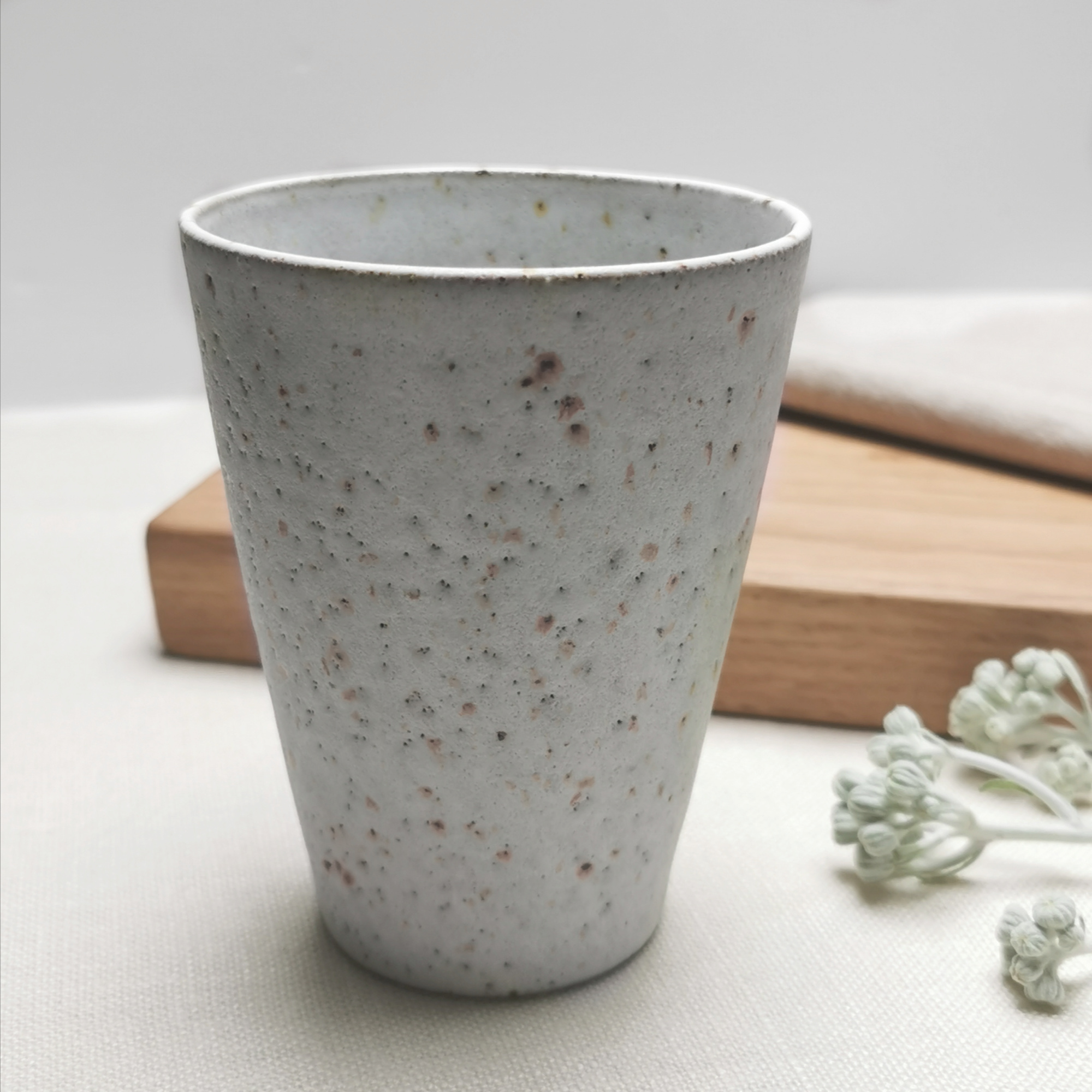 Cups and beakers by Aku Ceramics