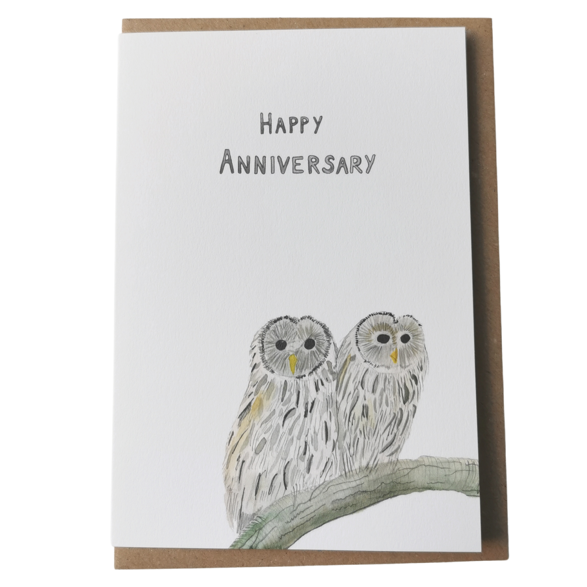 Anniversary Owls Dear Prudence Card