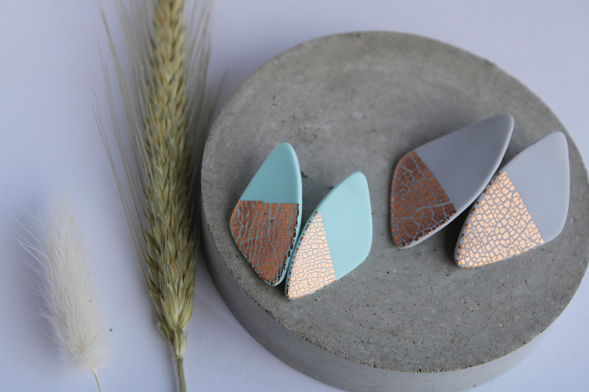 Pebble Studs by Wear With Grace
