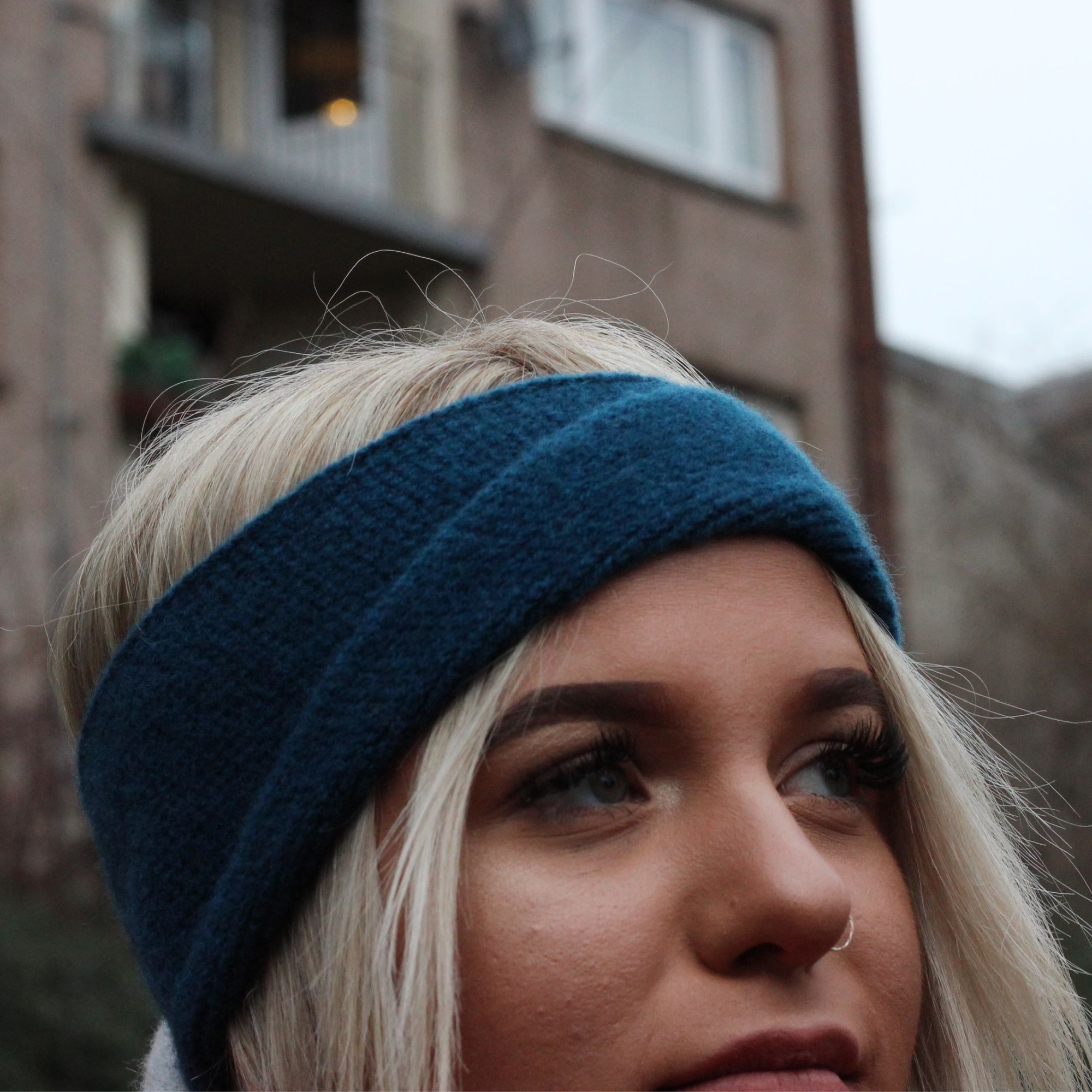 Twisted headband by Lyndsey Currie