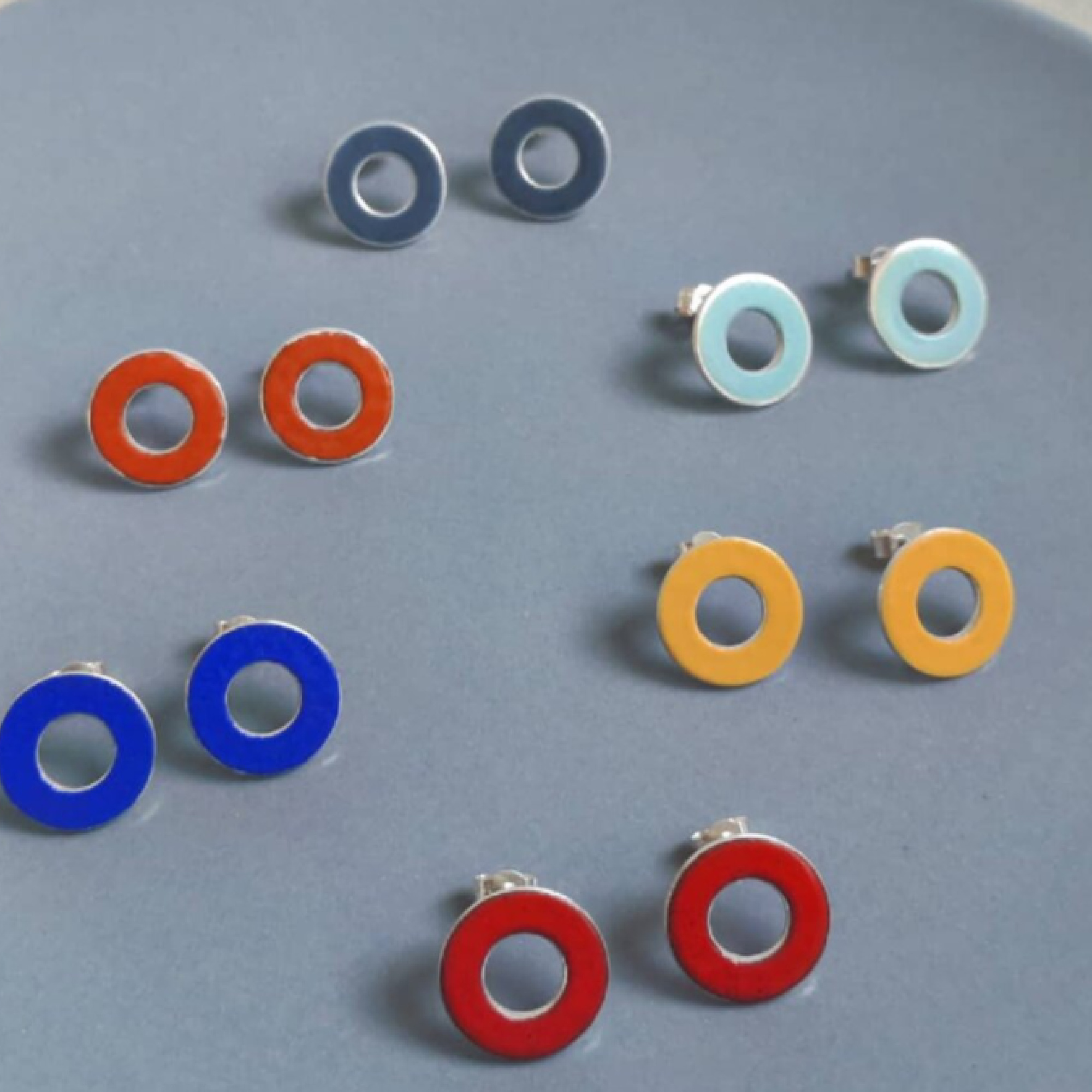 Circle Window Studs by Smith and Gibb