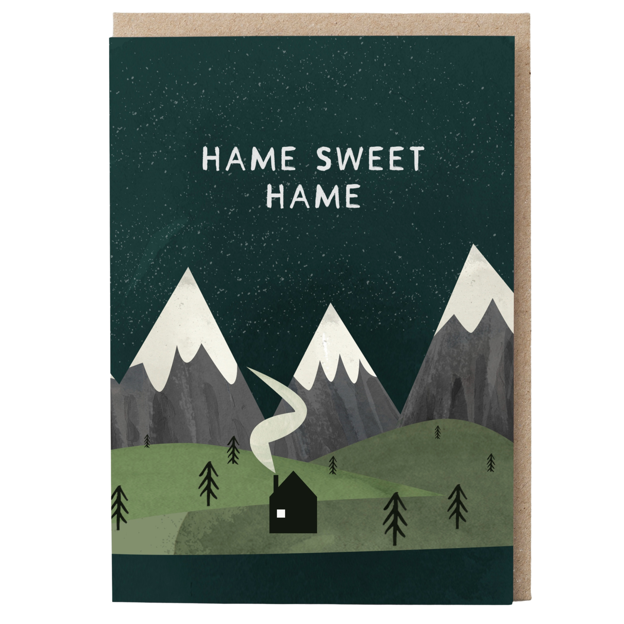 Card - Hame Sweet Hame