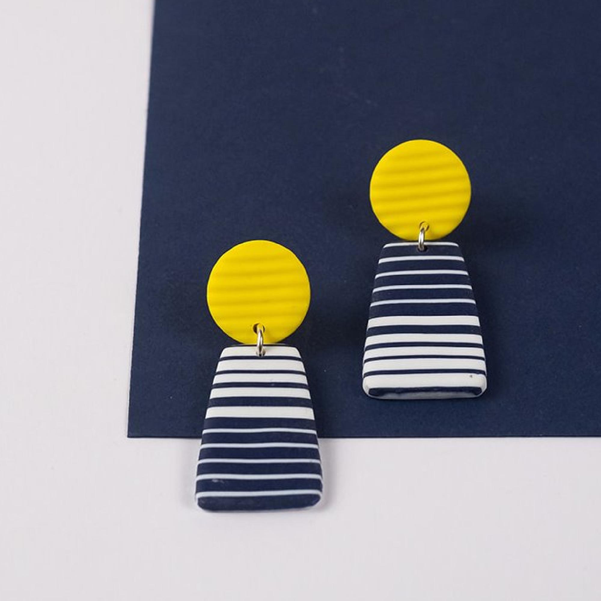 Carnac Breton Earrings by Nadege Honey
