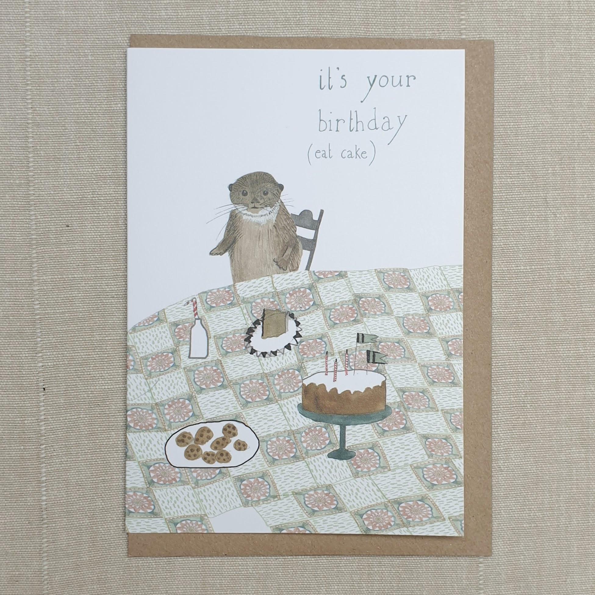 Card -  Eat Cake