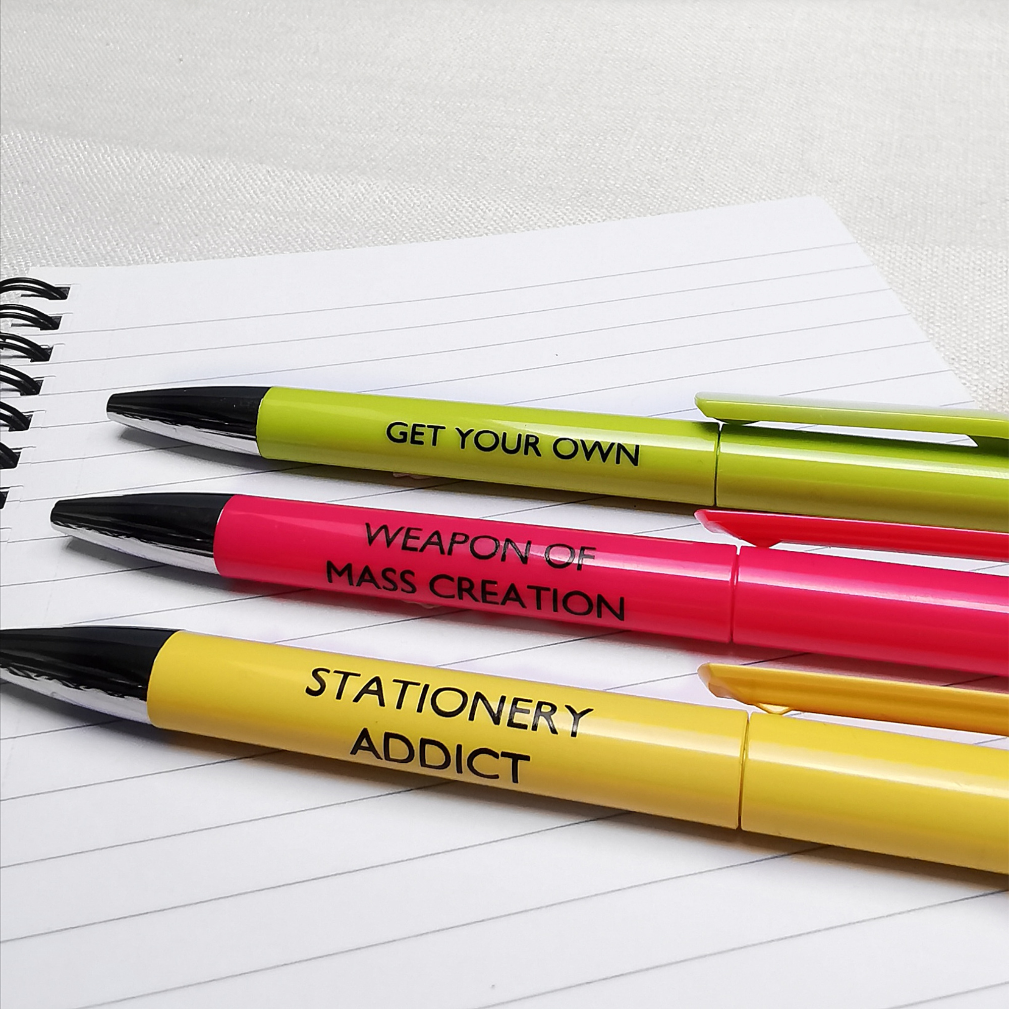 Stationery Addict Pen Collection