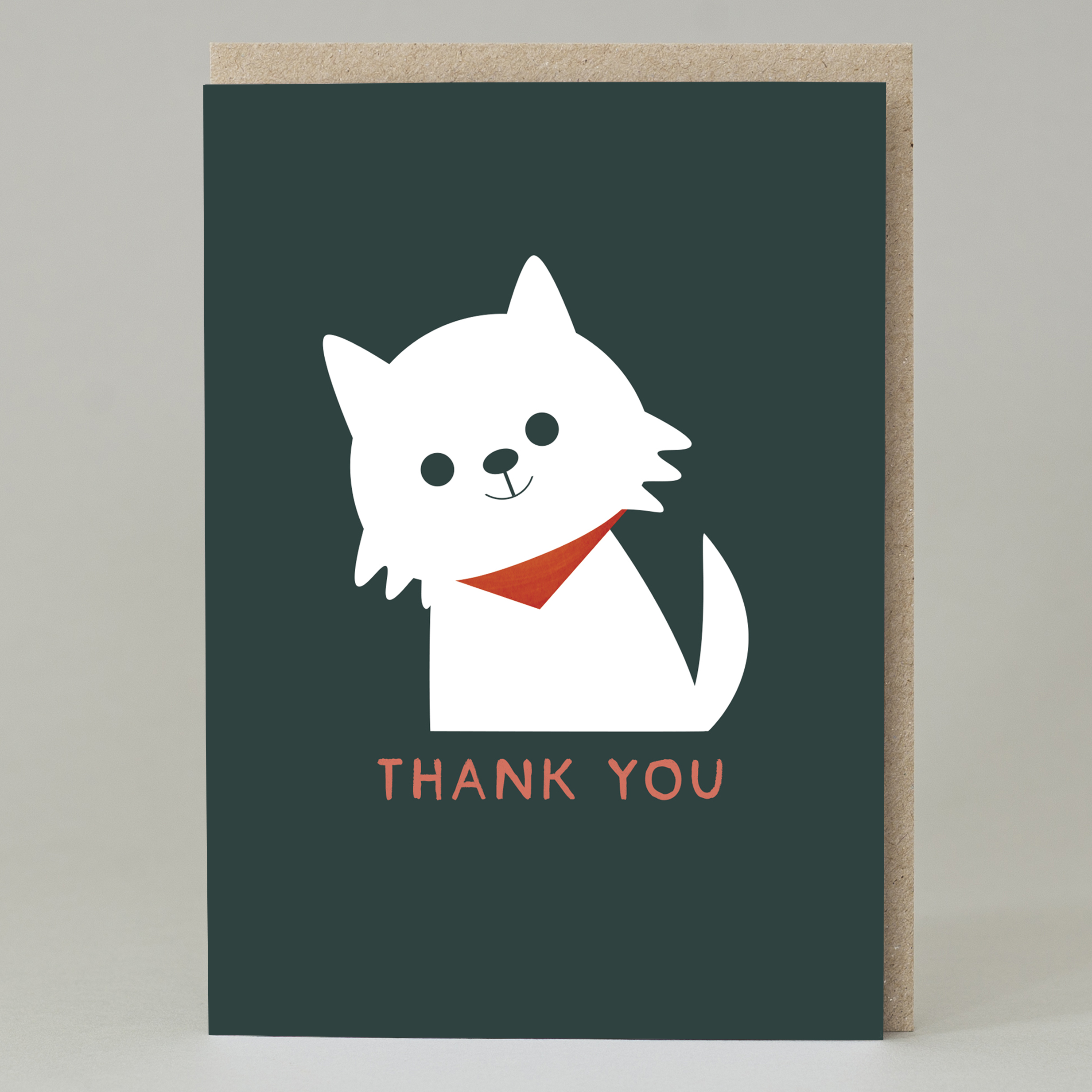 Card - Thank You Westie
